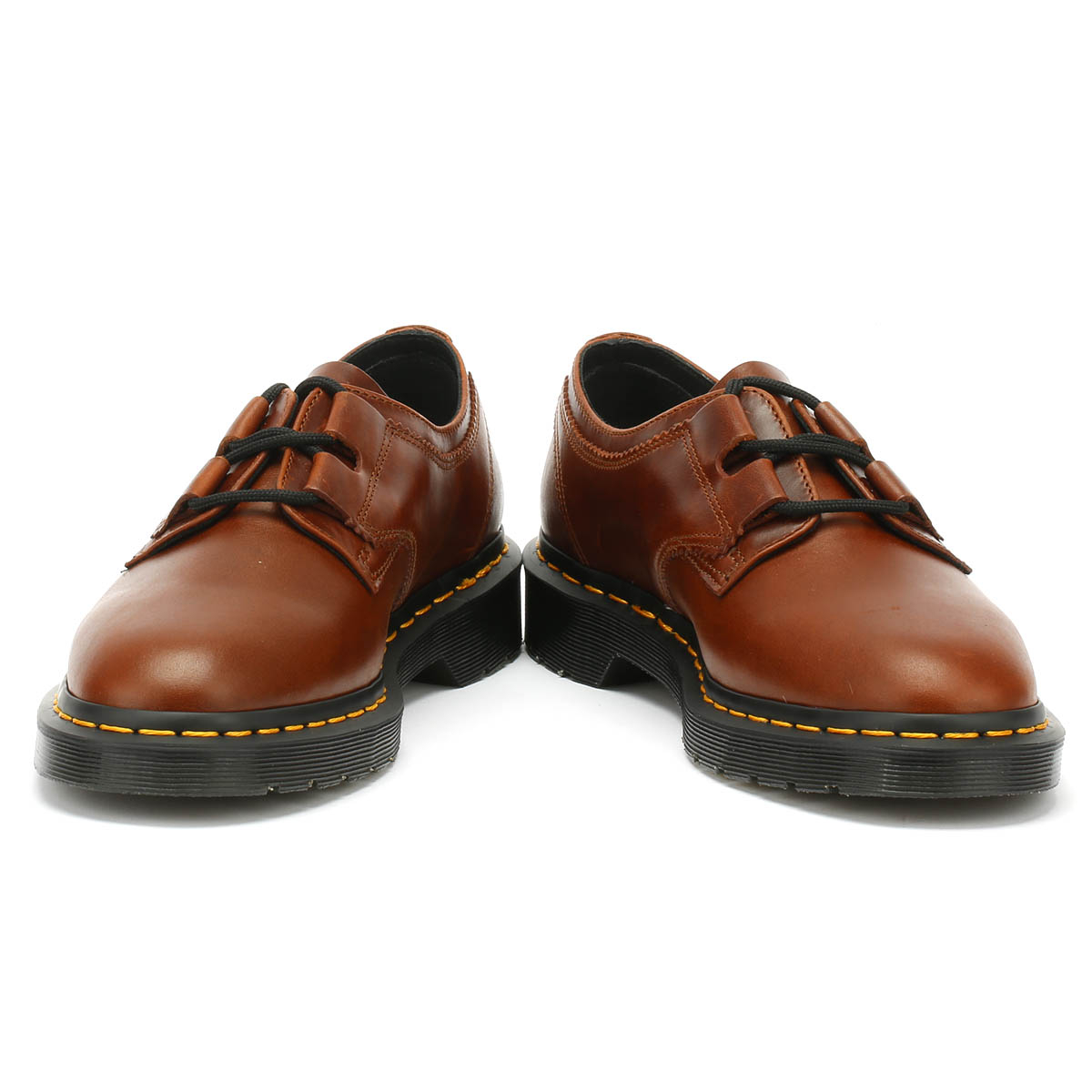 Dr. Martens Unisex Shoes 1461 1461 1461 Ghillie Aqua Glide Cognac Brown Leather Lace Up 1e17d0