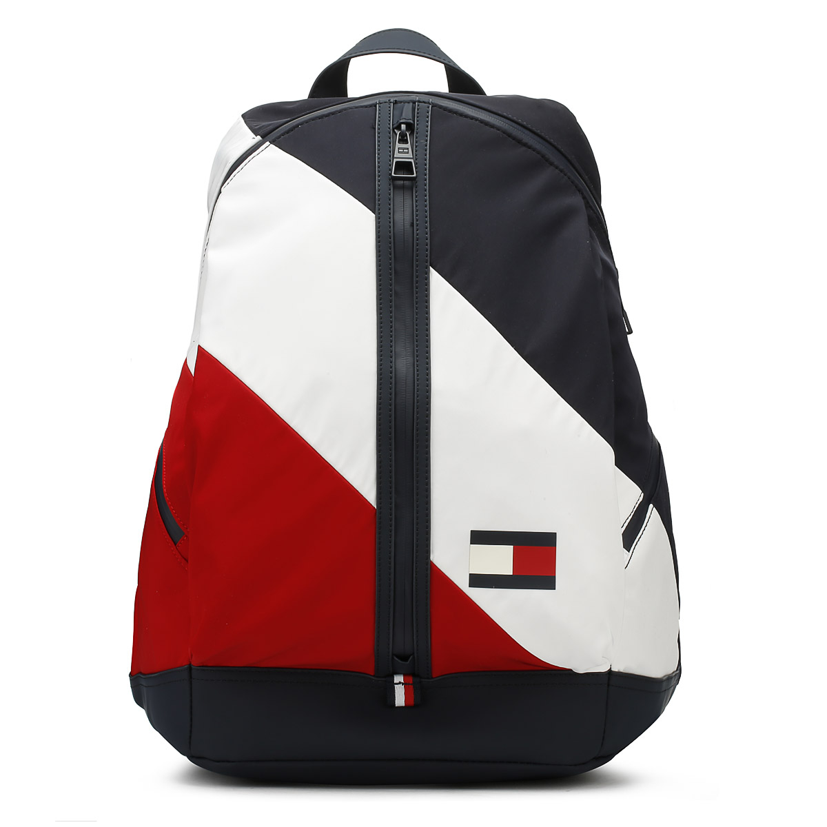 Tommy Hilfiger Corporate Navy Blue Sd Backpack Uni Travel School Bag