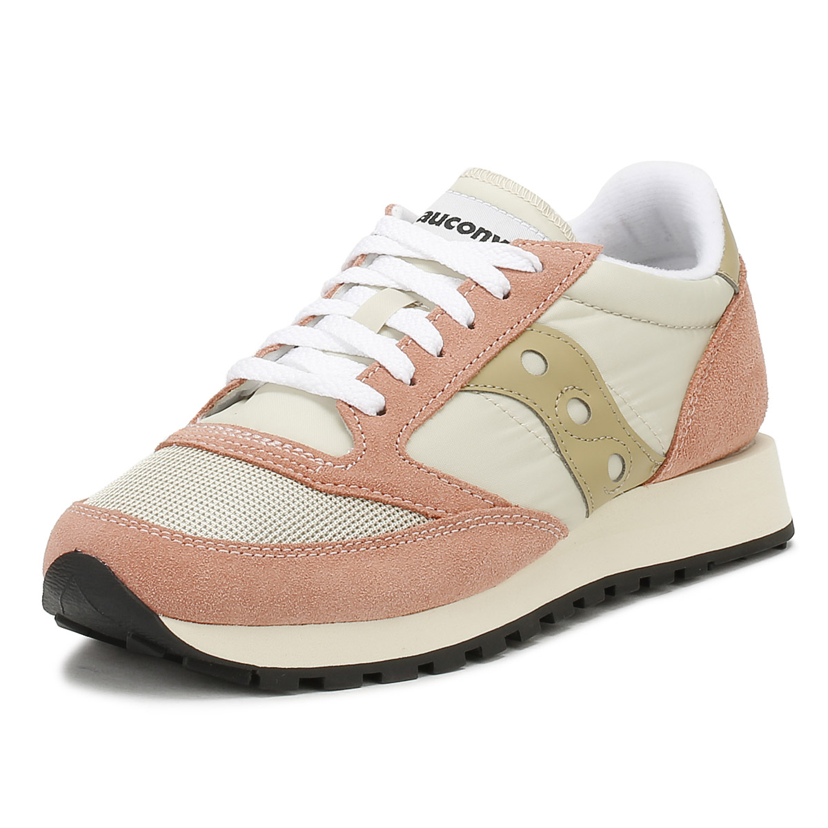 f8805e7ff87b Details about Saucony Womens Trainers Tan   Muted Clay Jazz Original  Vintage Casual Shoes