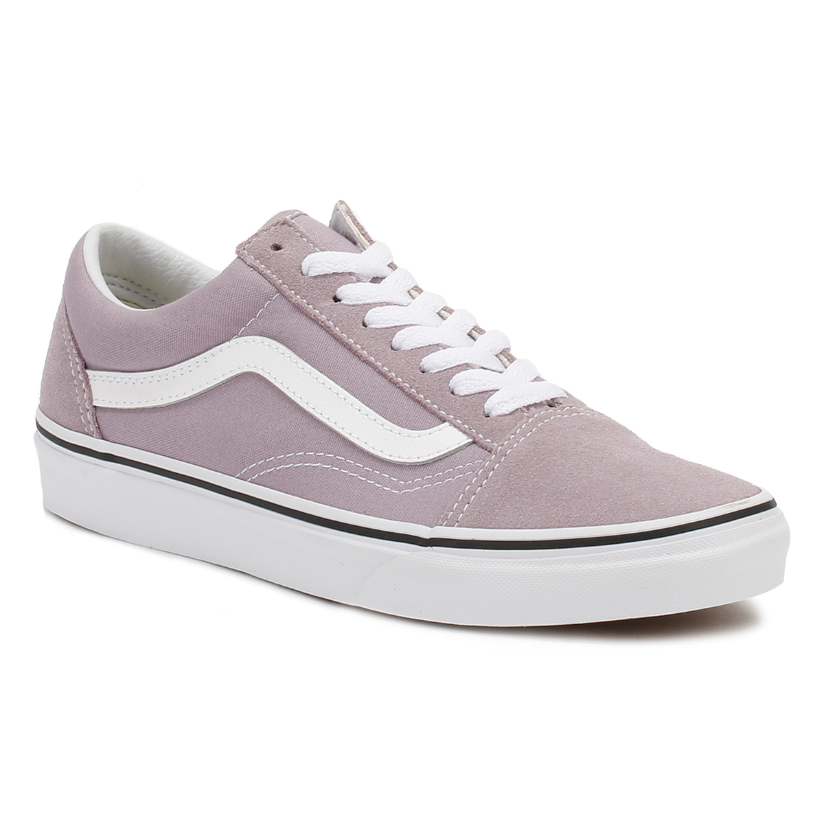 Vans Womens Lavender Old Skool Suede Trainers 567e50e8a