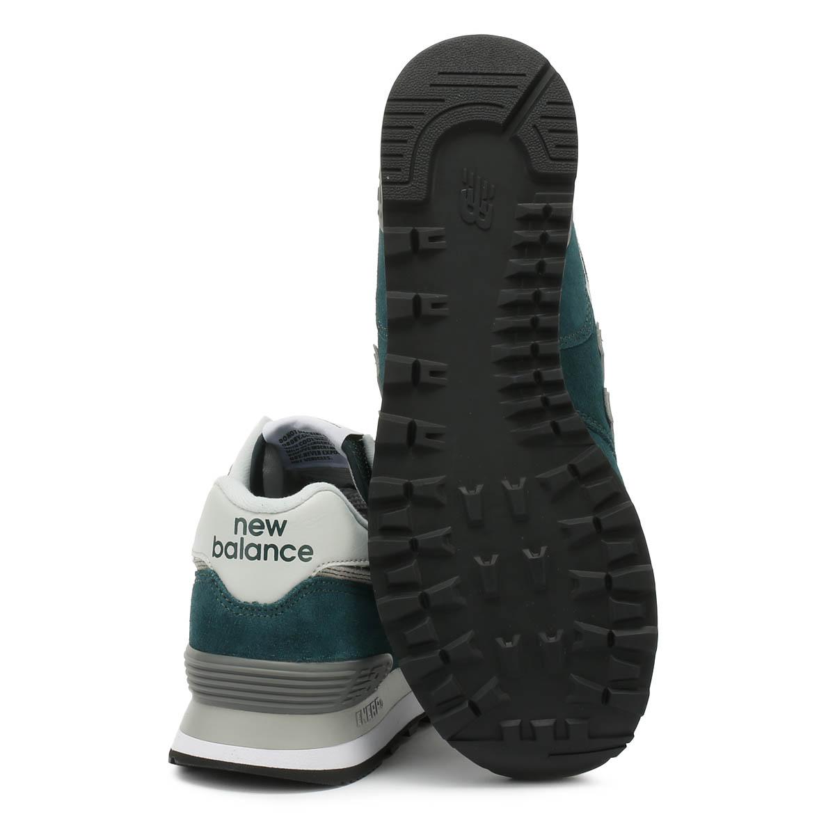 Vert Mens lacets 574 Balance Chaussures Classique Trainers à New q5PI1wW