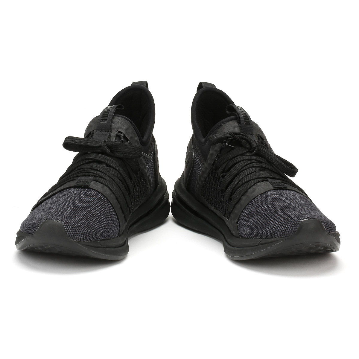 8f1d3a93857 PUMA Mens SR Netfit Trainers Black Ignite Limitless Lace Up Sport Running  Shoes