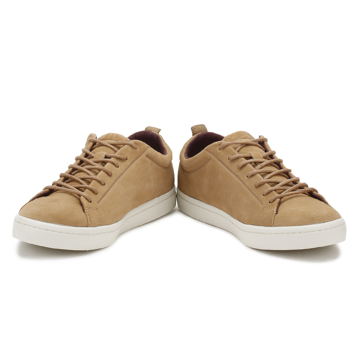 dd4416d35 Details about Lacoste Mens Trainers Light Tan Straightset 317 3 Suede Sport  Casual Shoes