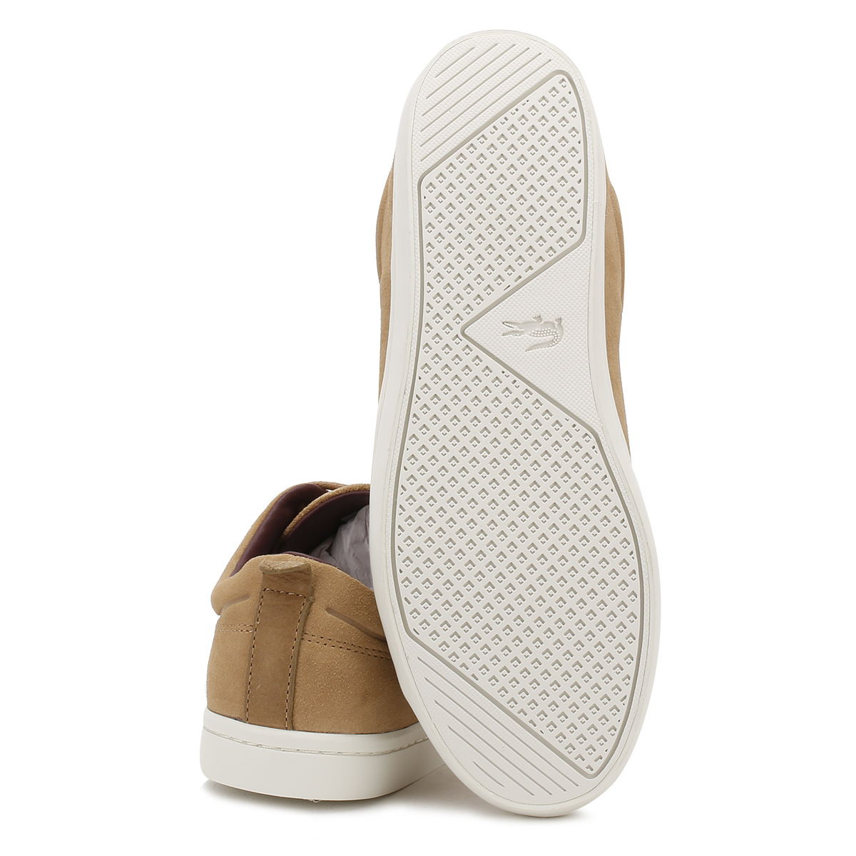 Lacoste para Hombre Tenis luz tan straightset 317 de Zapatos Deportivos Informales de 317 Gamuza 3 19e0c9