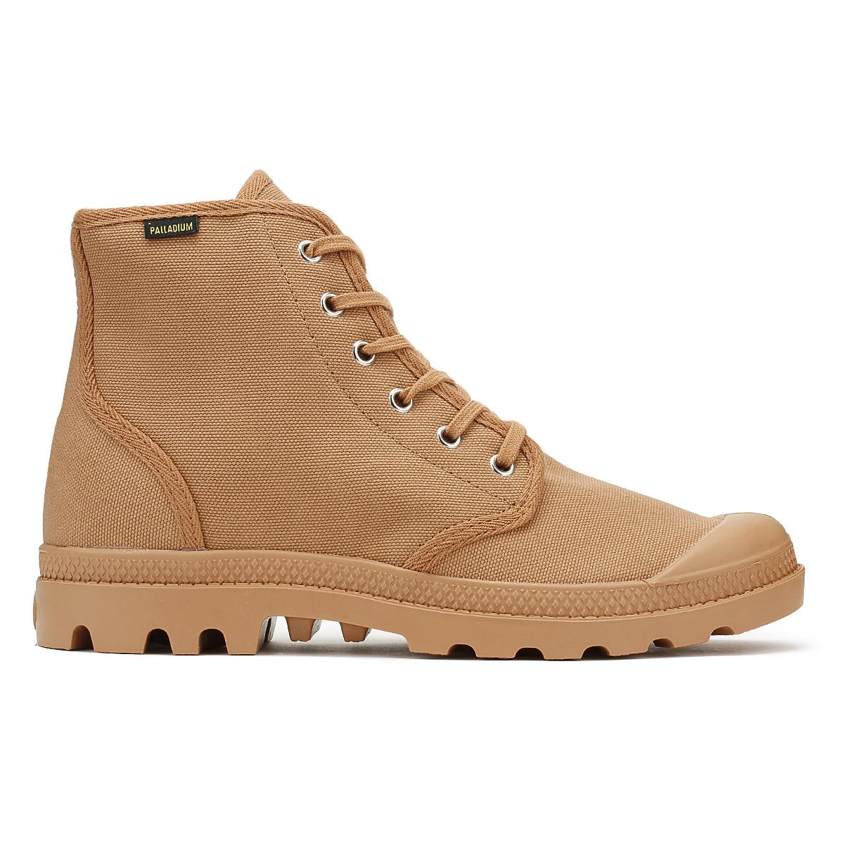 Palladium Damenschuhe Pampa Hi Stiefel Peru Braun Pampa Damenschuhe Originale Canvas Ankle Schuhes c5be50
