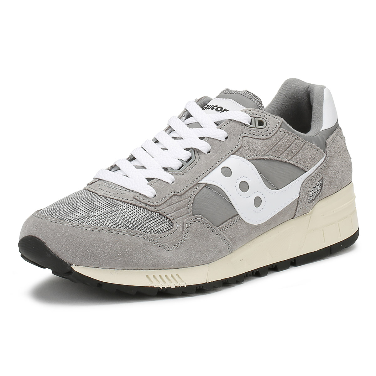 outlet store 62692 55575 Details about Saucony Mens Trainers Grey Shadow 5000 Vintage Sport Casual  Shoes