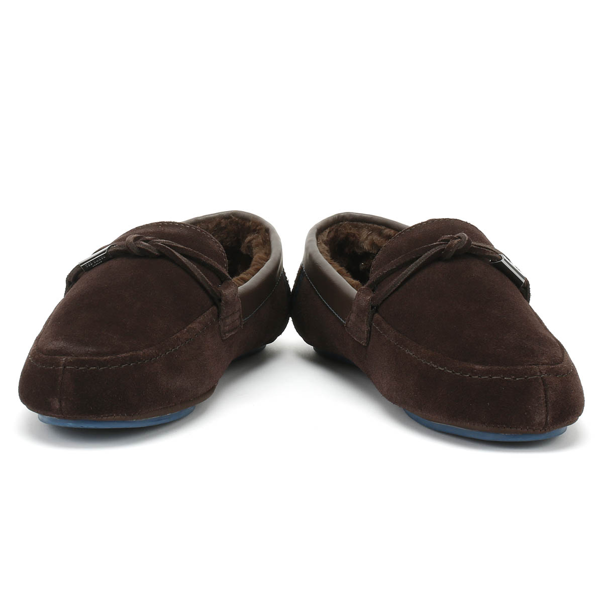 Ted Baker  Herren Braun Casual Valcent Slippers Suede Casual Braun Home Schuhes 2fc3d8