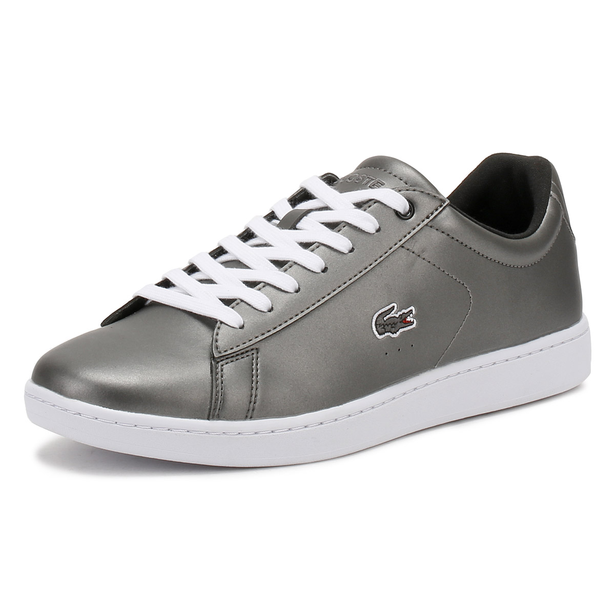 71538099a Details about Lacoste Womens Black Carnaby EVO 317 4 Trainers