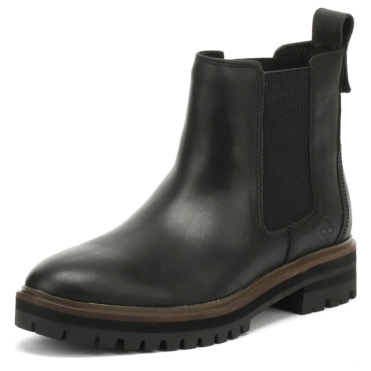 Acquista A Buon Mercato Timberland Womens Boots Black London Square Chelsea Ladies Warm Winter Shoes