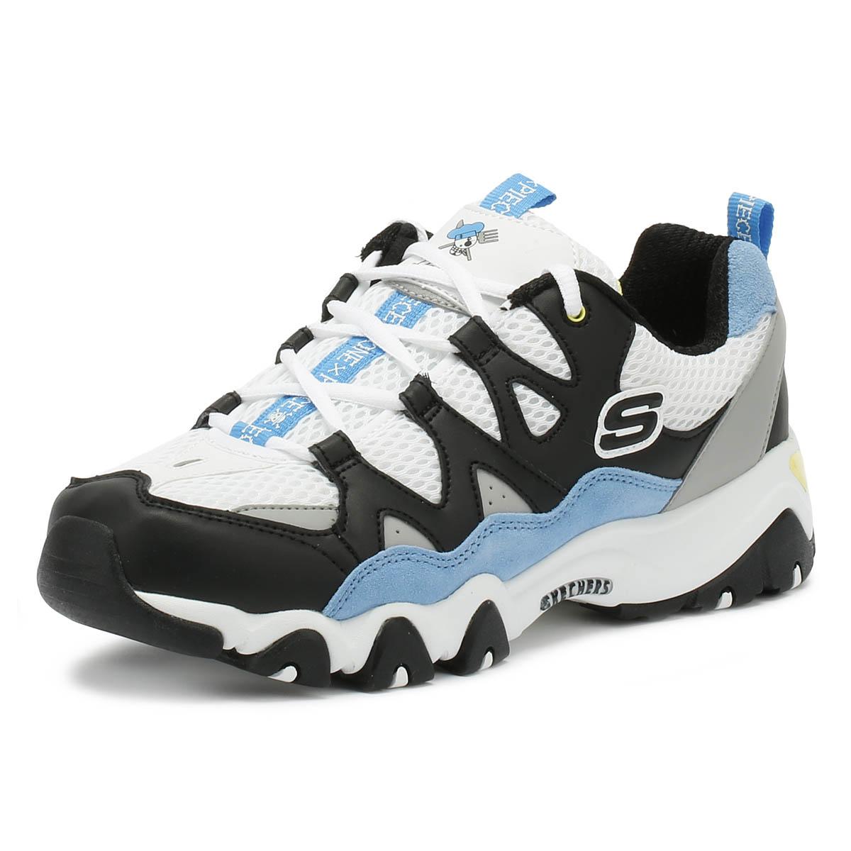 Zapatos D'lites Para Blanconegroazul Detalles Original Una Informales Pieza Mujer De Ver Skechers Zapatillas 2 Título lFTKJc13