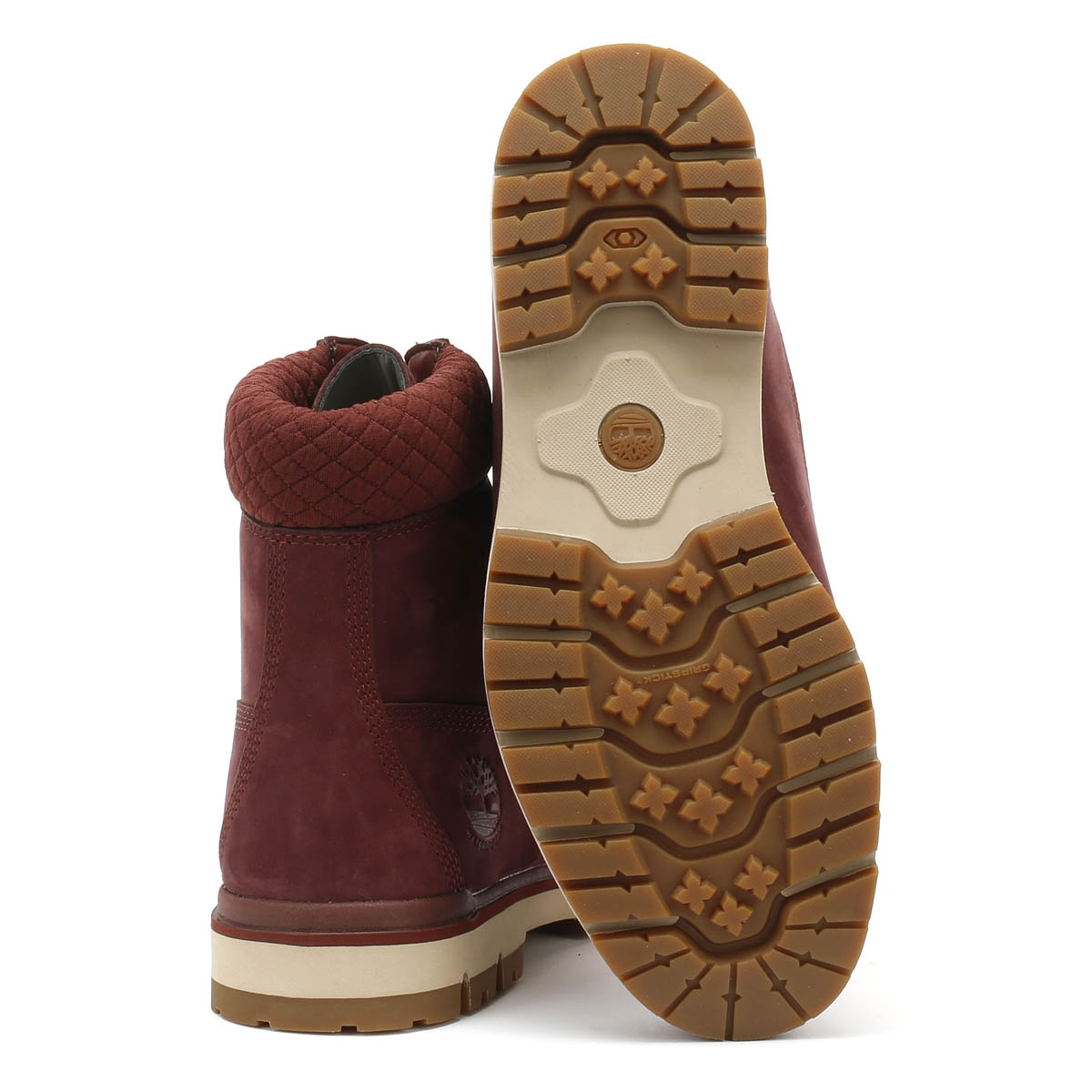 Details about Timberland Mens Boots Burgundy Radford 6 Inch D Rings Warm Winter Leather Shoes