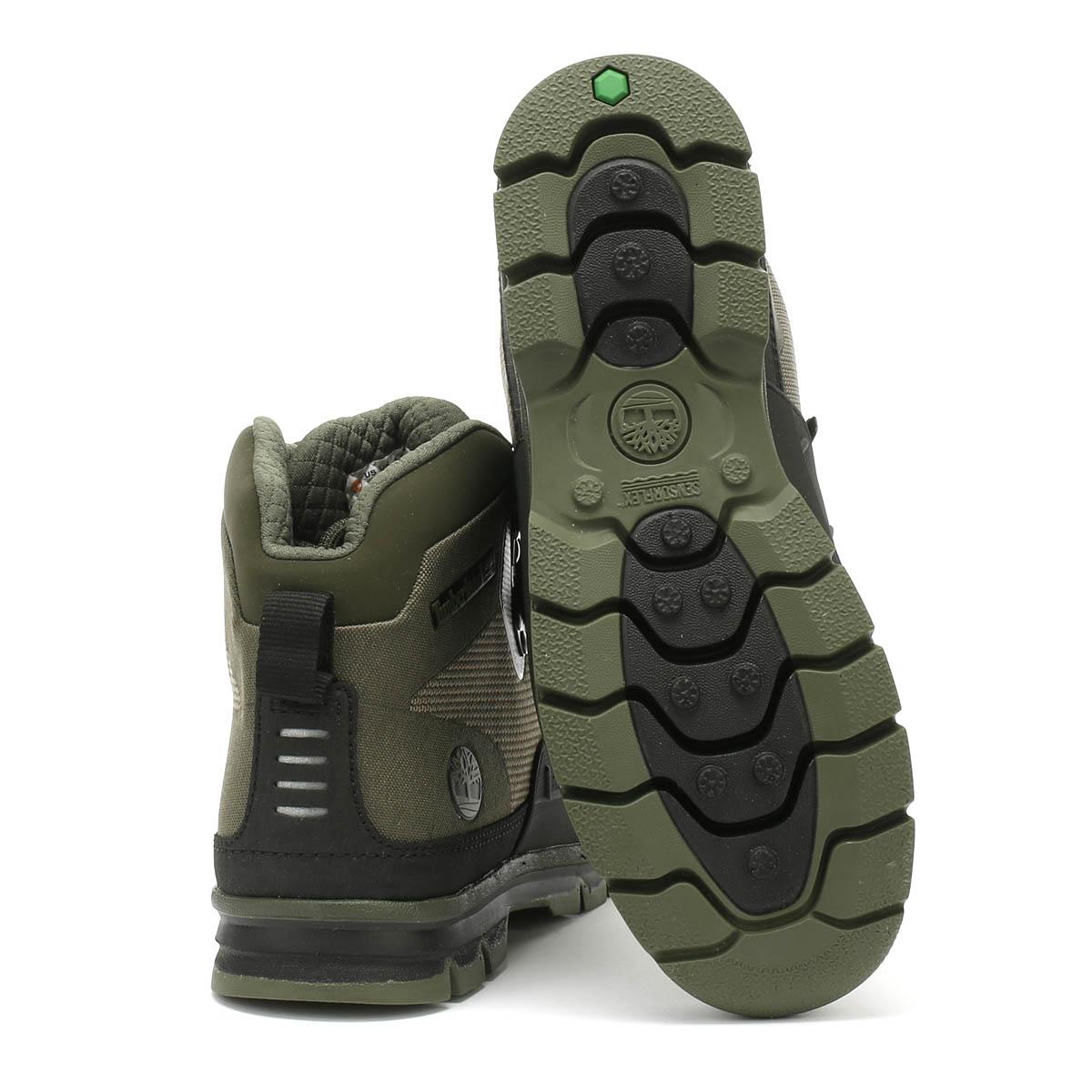 Détails sur Timberland Euro Hiker Shell Jacquard Homme Bottes Vert Hiver Chaud Chaussures De Marche afficher le titre d'origine