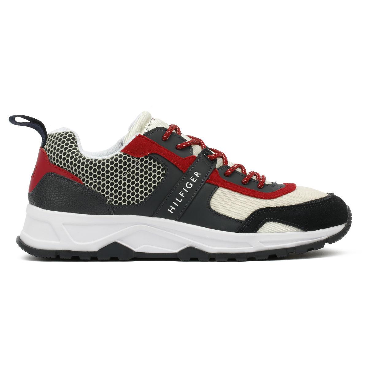 Tommy Hilfiger Runner Entrenadores RWB sport con cordones para hombre sport RWB casual zapatos para caminar f93e58