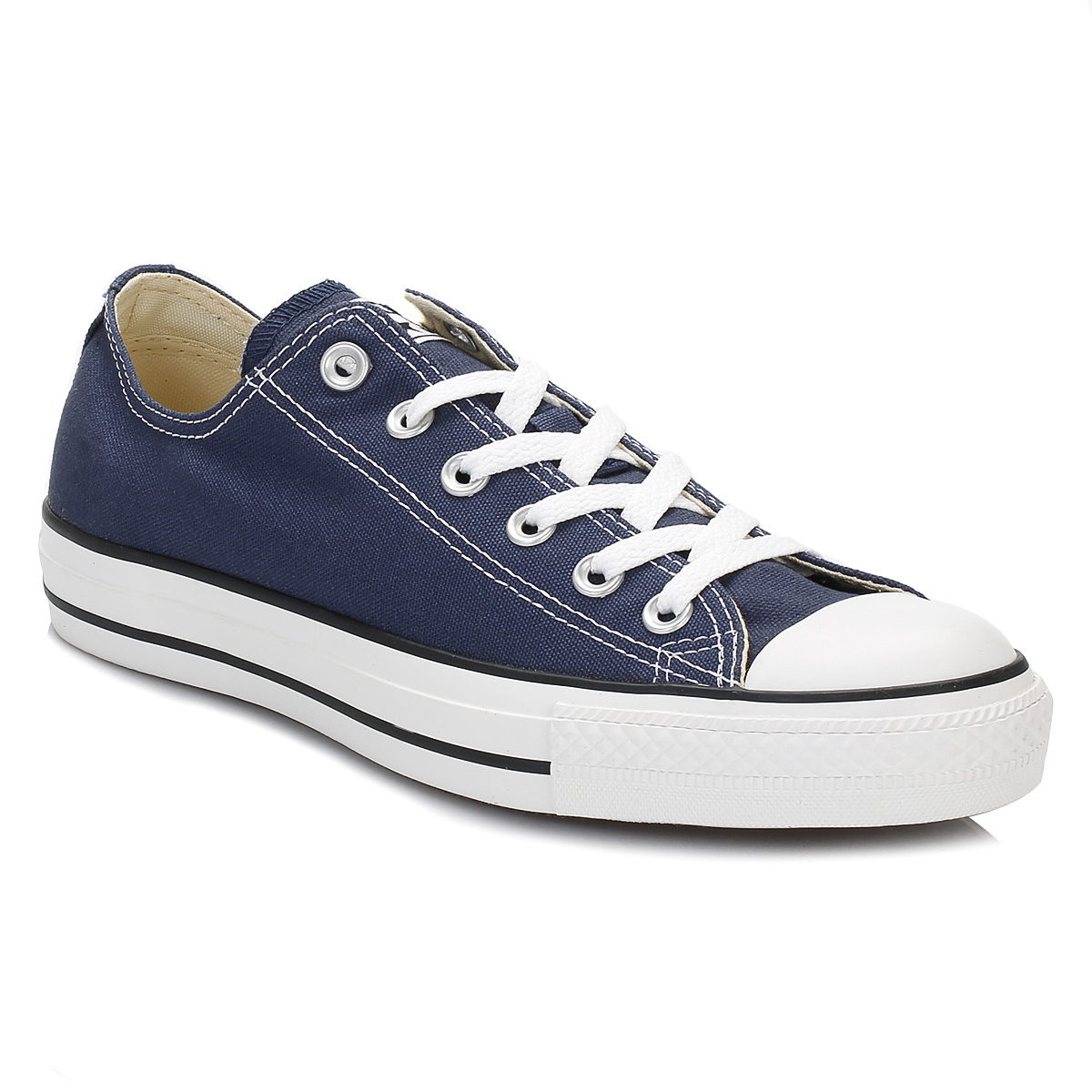 Converse Uomo Unisex CT Niedrig Navy Blau Canvas Trainers  Uomo Converse Damenschuhe Lace Up Sneakers b943d0