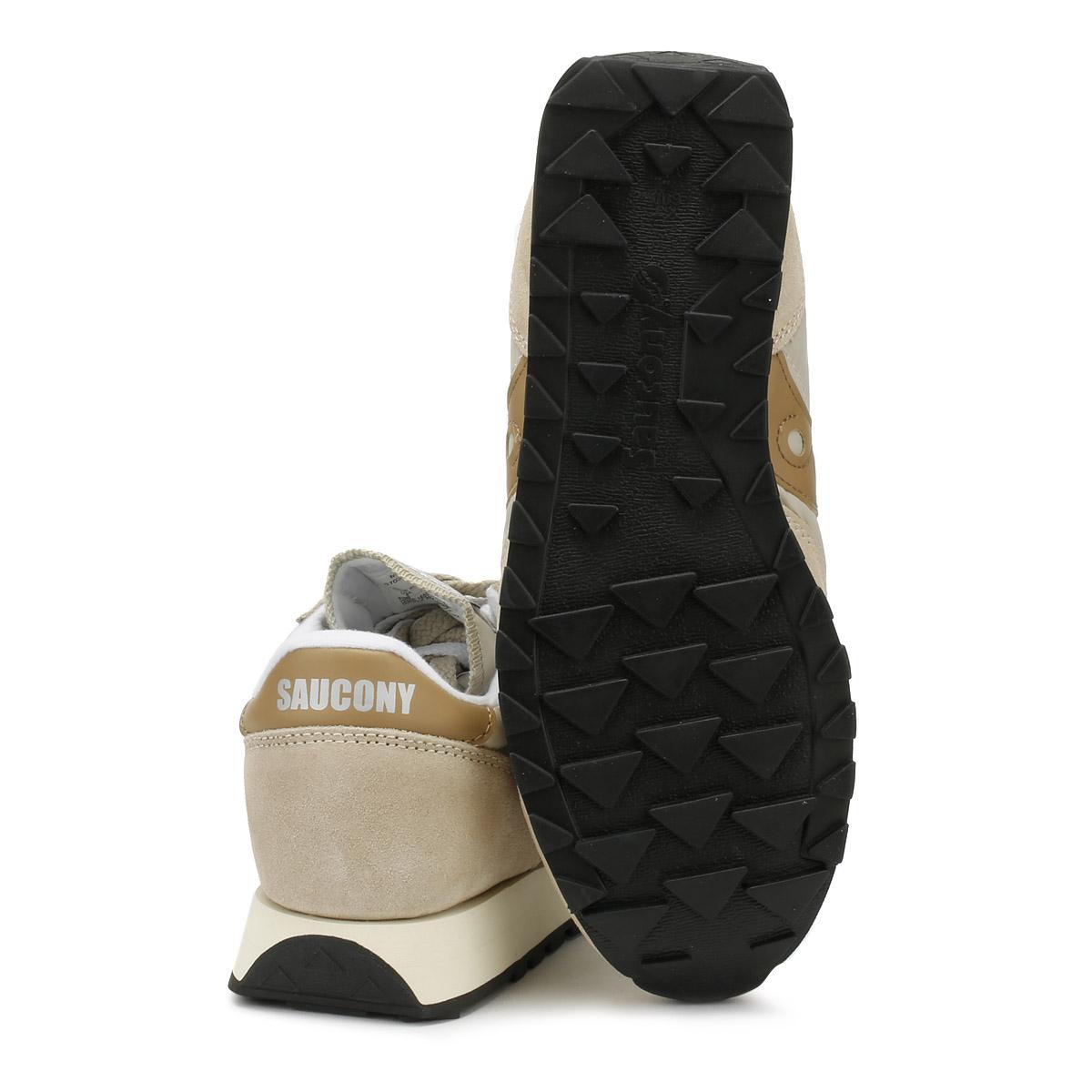 Saucony Mens Tan Trainers Cement & Tan Mens Jazz Original Vintage Sport Casual Shoes 72ba29