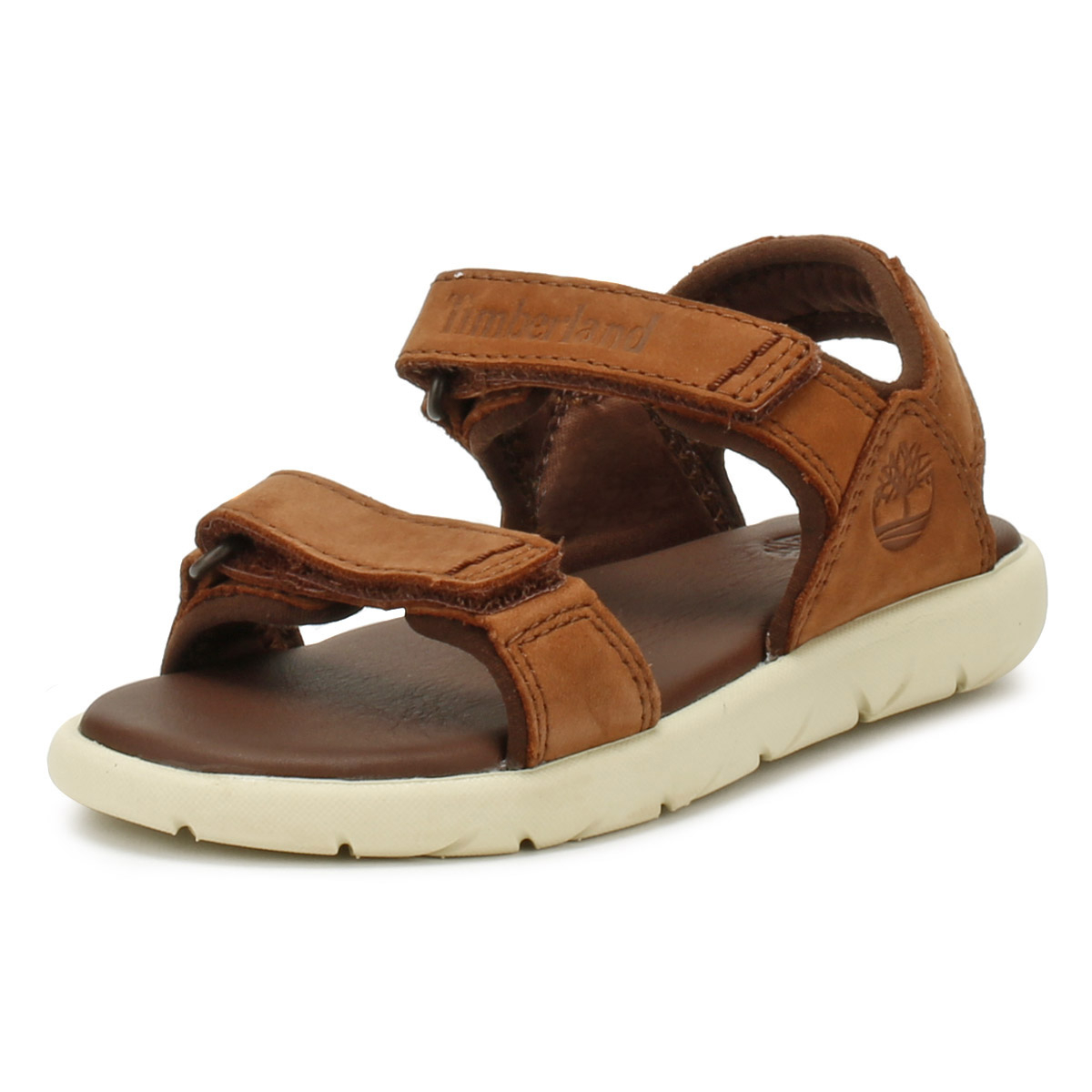Details about Timberland Toddlers Sandals Cappudcino Brown Nubble 2-Strap  Kids Summer Shoes fd8e34ae8acd5