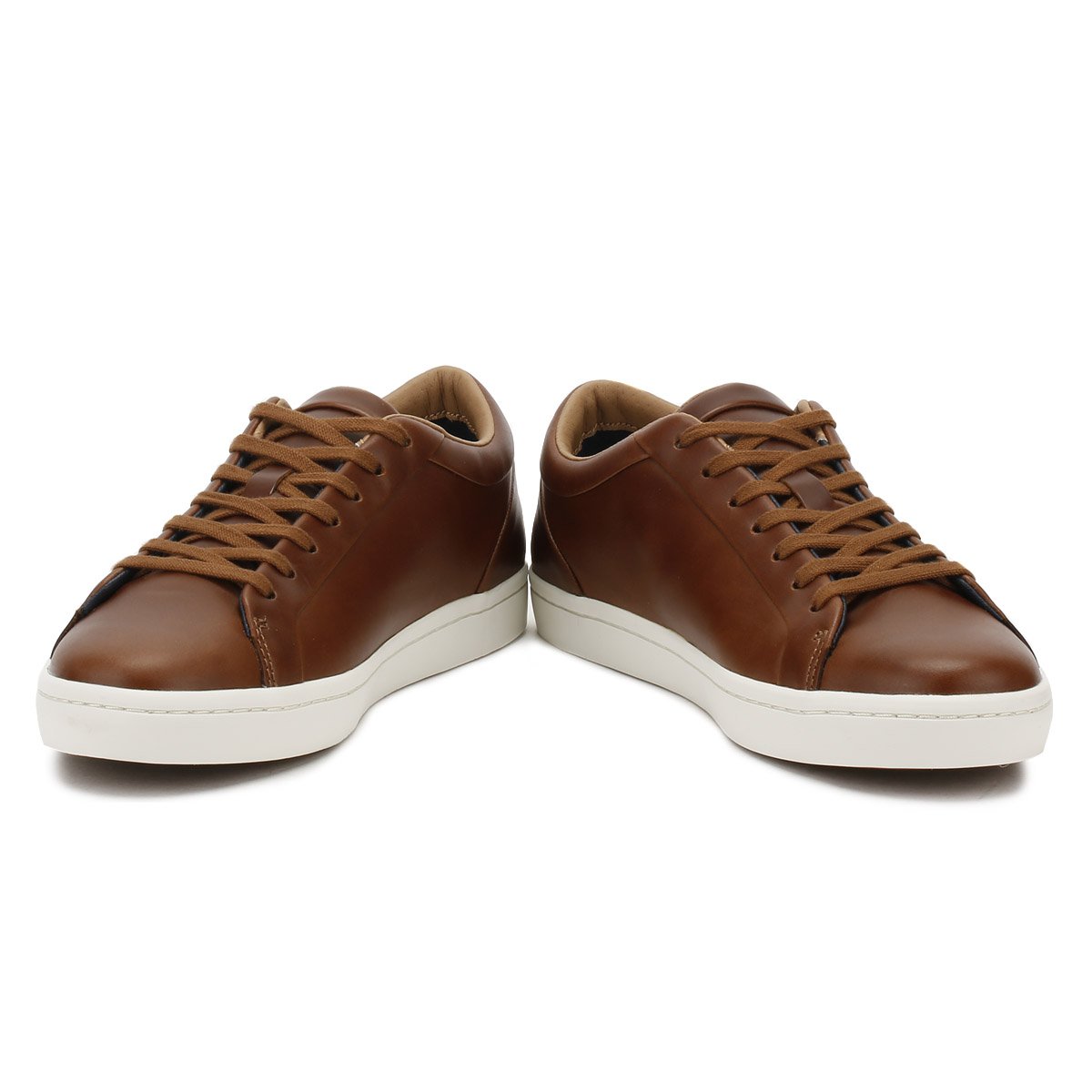348ef3100e31 Lacoste Mens Brown Straightset 317 Trainers