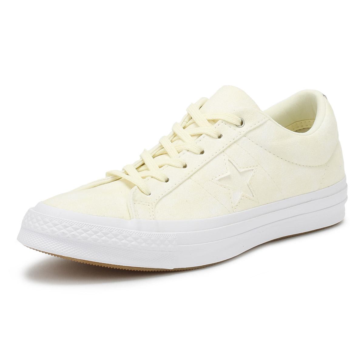 Converse One Star Damenschuhe Ox  Trainers Vapor Lemon Canvas  Ox Lace Up Skate Schuhes 12da8d