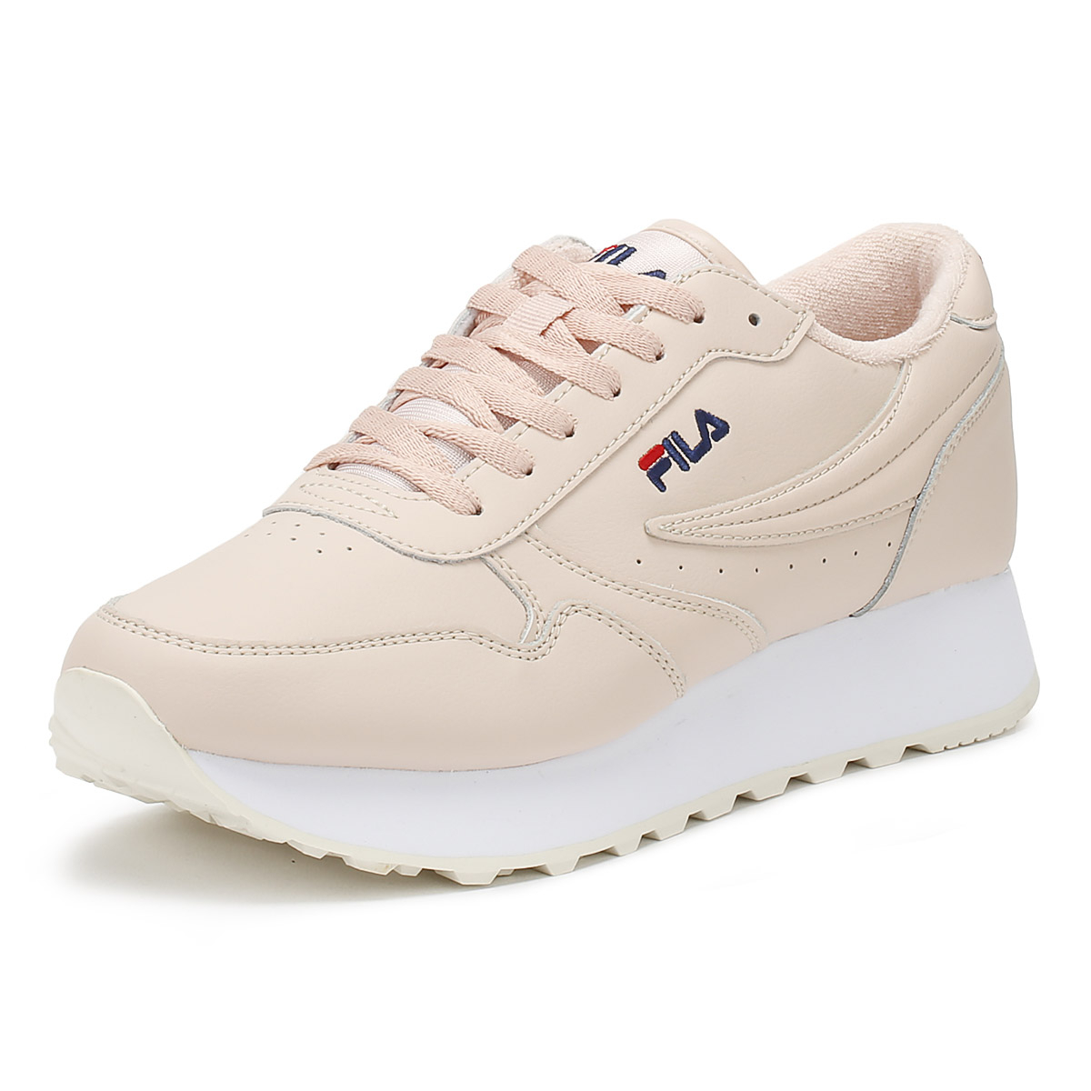 Details about Fila Womens Trainers Peach Whip Orbit Zeppa L Sport Casual  Lace Up Shoes dfd194cae4d