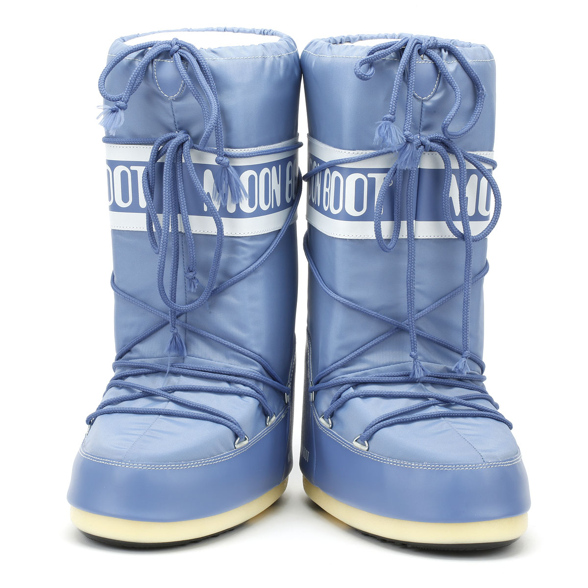 60e27fe29c47 Moon Boot Classic Icon Womens Boots Stone Wash Nylon Warm Winter Snow Shoes