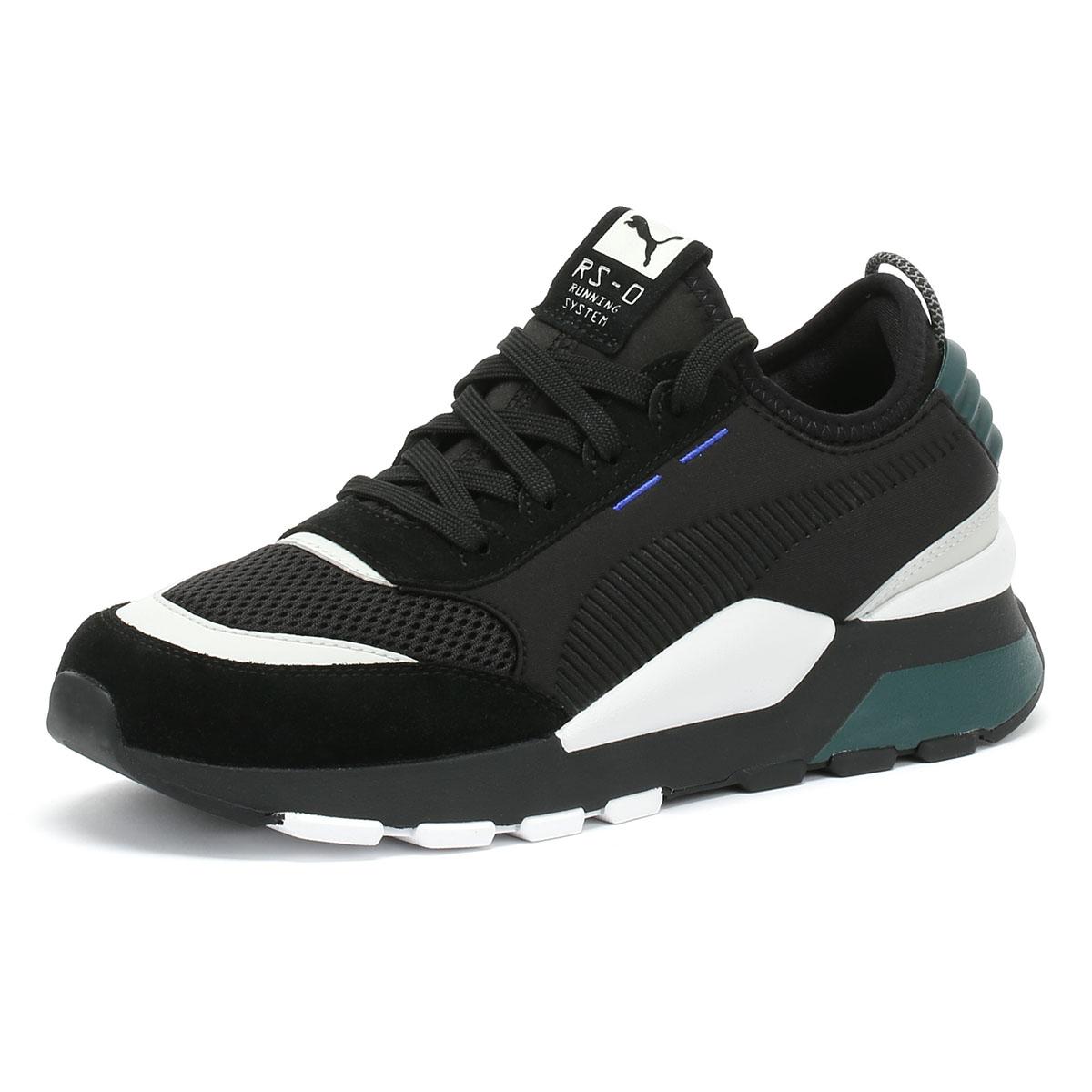 ea43d5ba374b Details about PUMA RS-0 Toys Mens Trainers Black   Ponderosa Pine Lace Up  Sport Casual Shoes