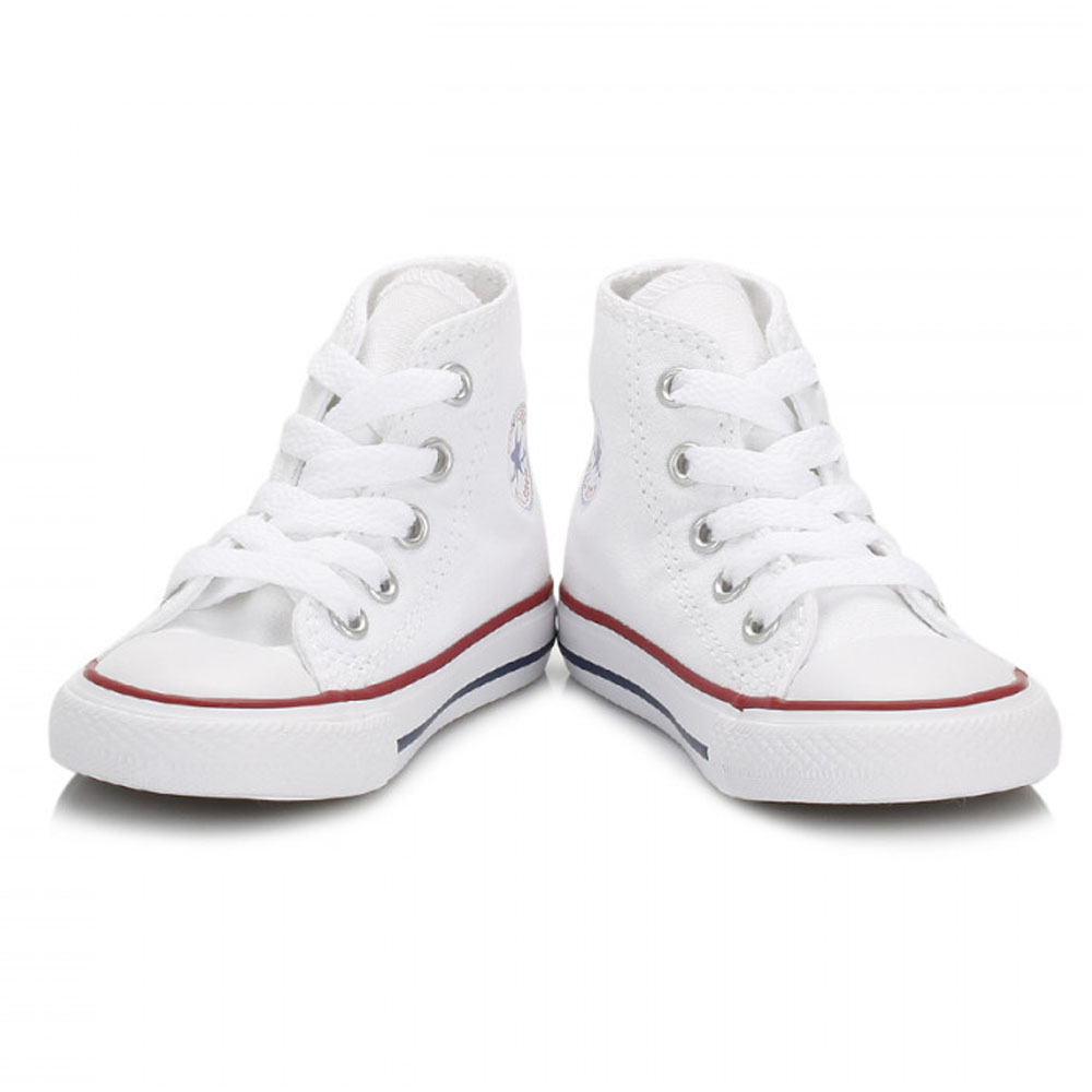 22ac835200c Converse Chuck Taylor All Star Hi Optical White Textile Baby ...