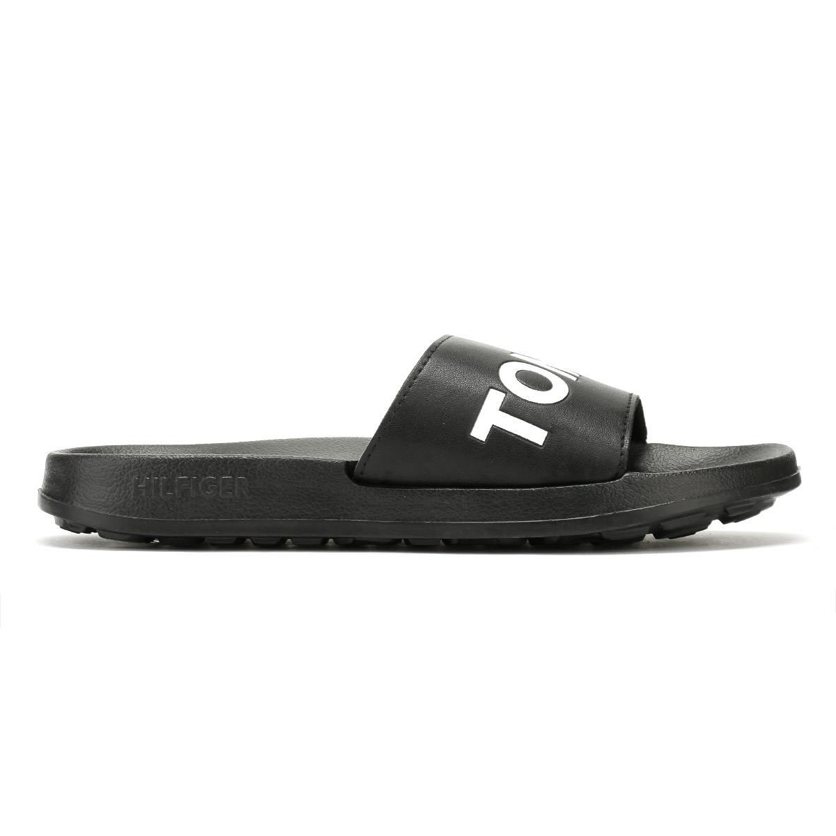 1ce5d6274 Tommy Hilfiger Womens Slides Black Tommy Jeans Pool Summer Beach ...