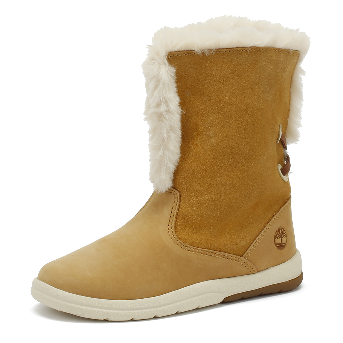 089a283b98 Details about Timberland Tracks Toddlers Wheat Yellow Boots Premium Leather  Kids Winter Shoes