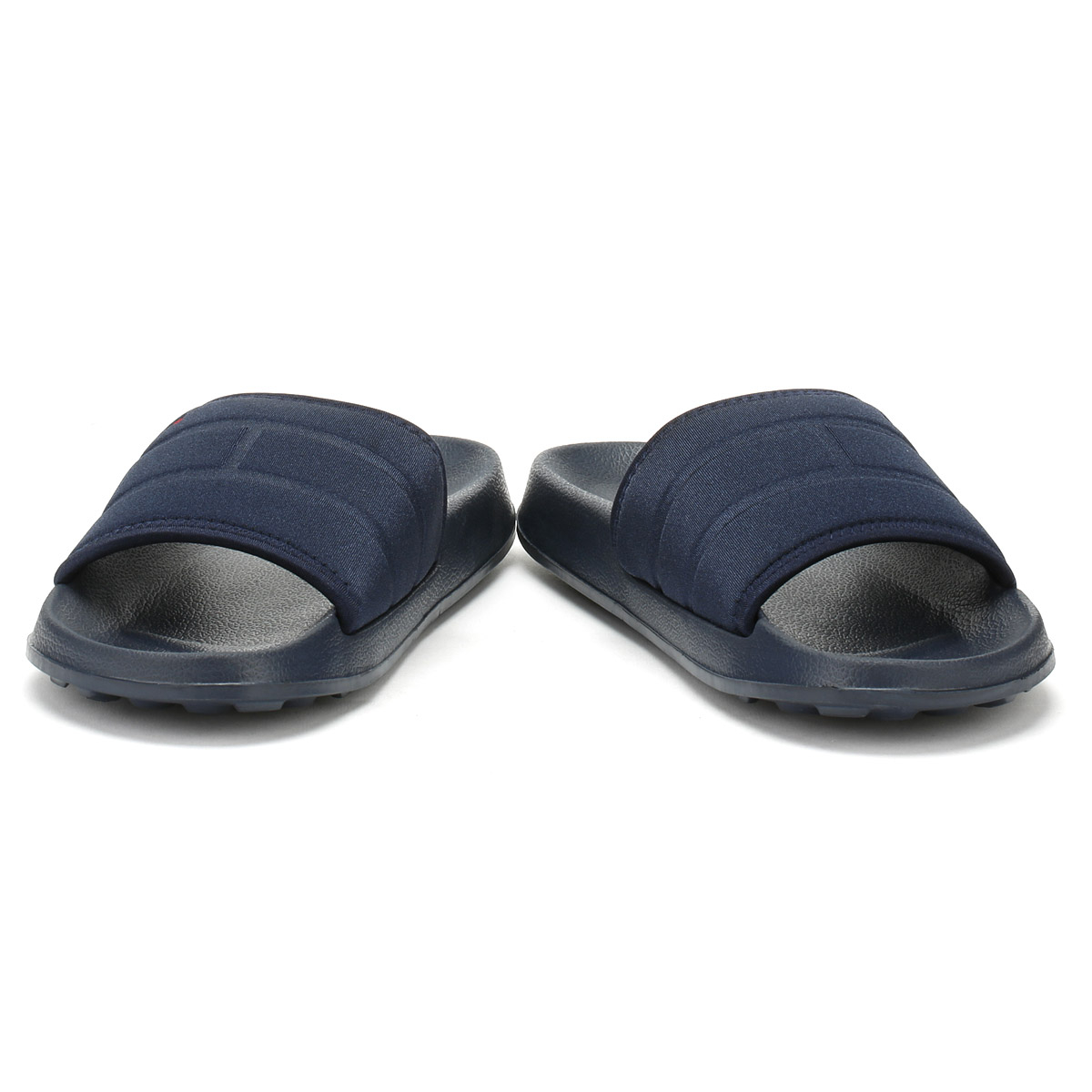46141a6ed8b74 Tommy Hilfiger Mens Slides Midnight Navy Flag Pool Sandals Summer ...