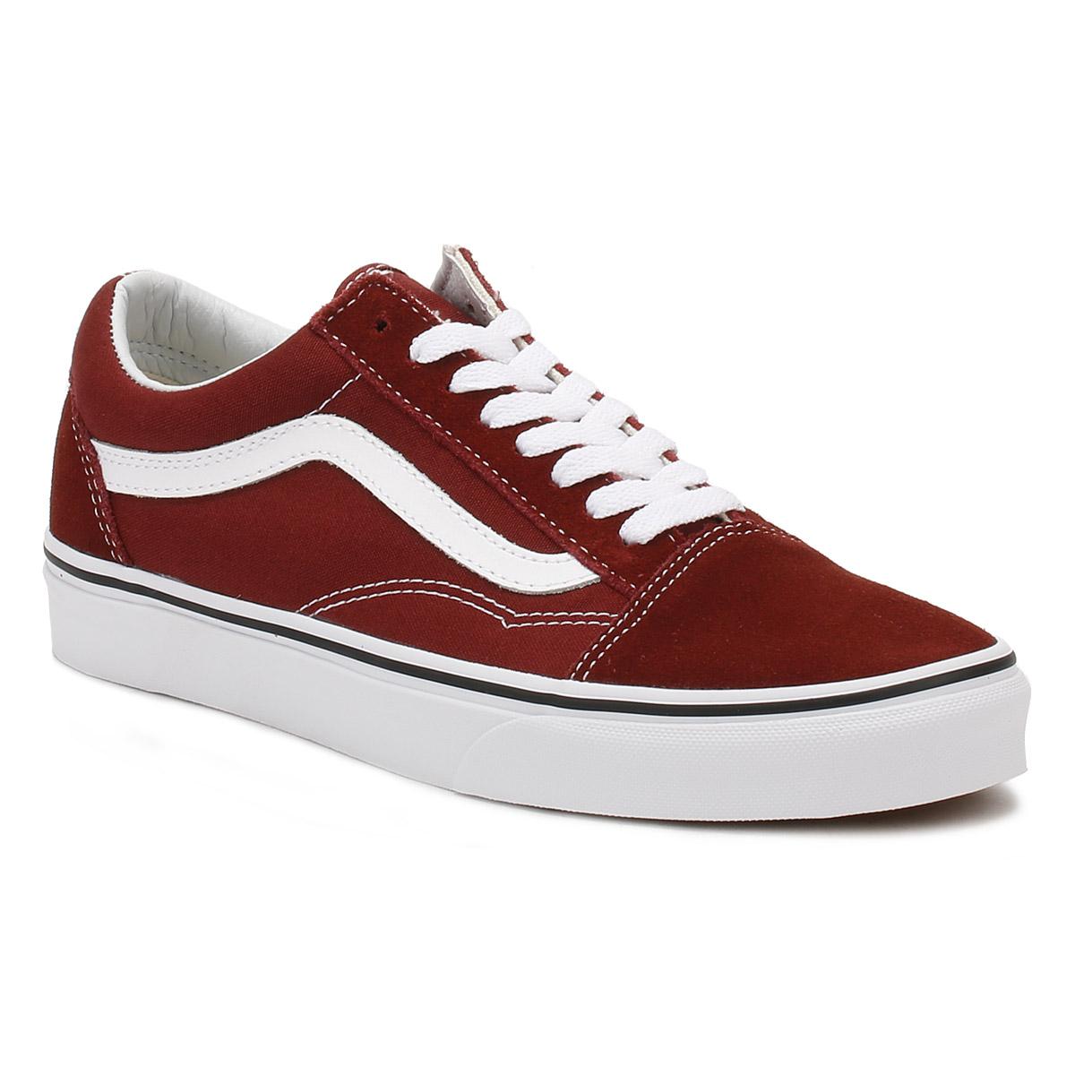 1152f7ef83b5 Vans Mens Madder Brown Old Skool Trainers