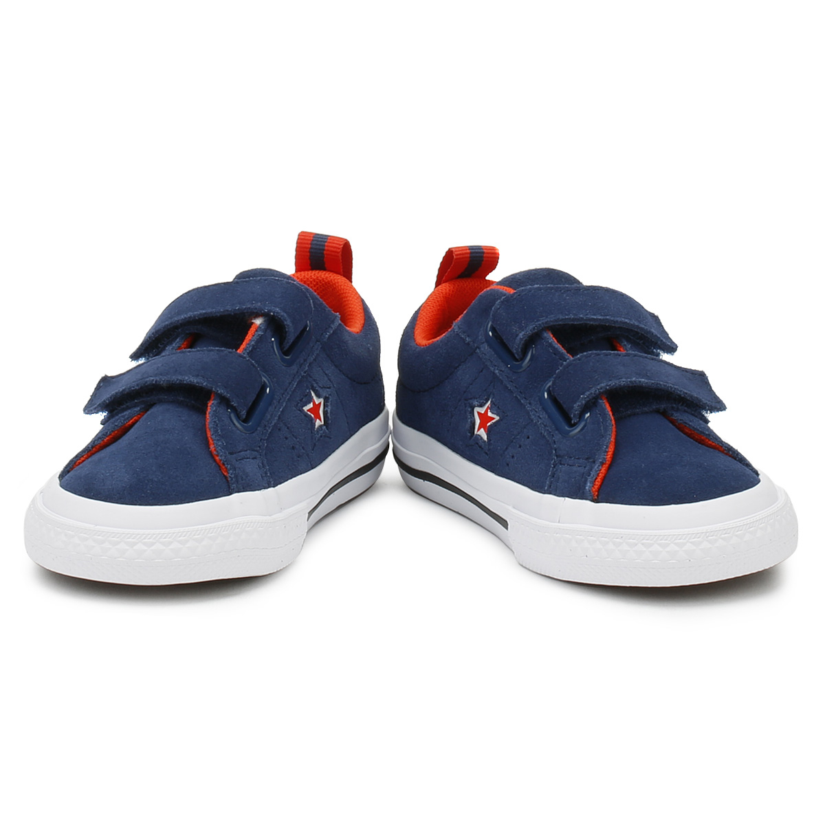 Converse-One-Star-Toddlers-Ox-Trainers-Navy-amp-White-Canvas-2V-Kids-Casual-Shoes