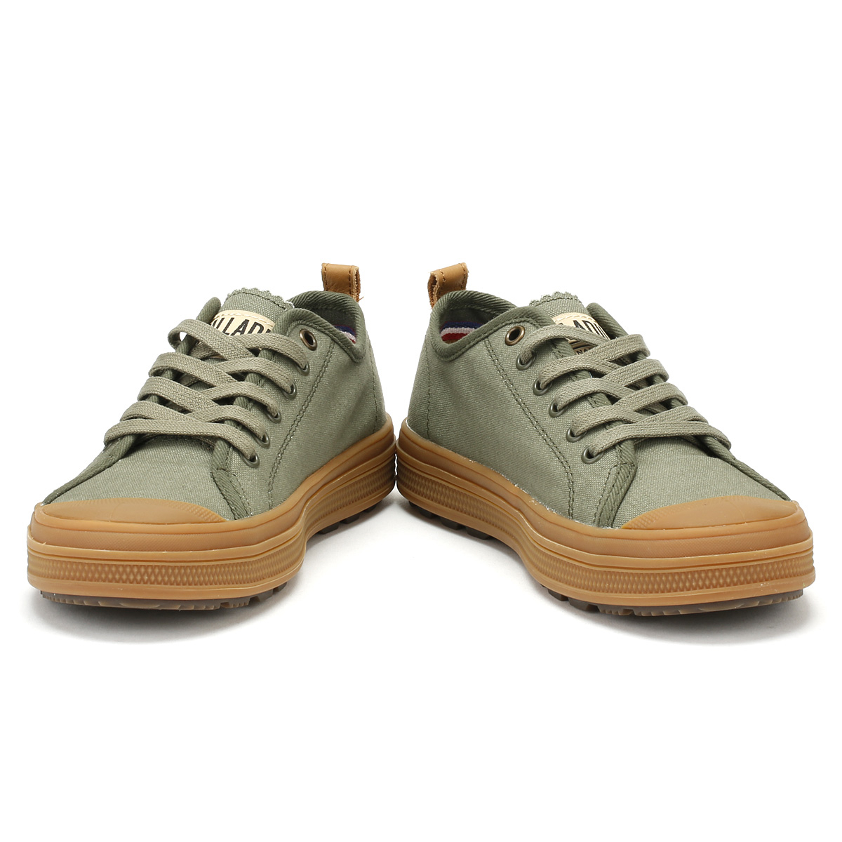 Palladium Mens Trainers Gum Olive Night & Mid Gum Trainers S_U_B Low Canvas Lace Up Schuhes 7e3139