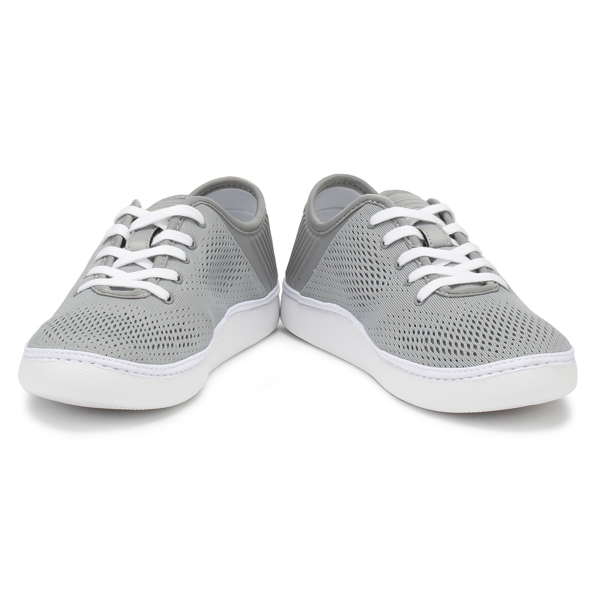 Lacoste Mens Trainers Grau & WEISS L.YDRO Lace 118 1 Schuhes Sport Casual Lace Up Schuhes 1 44c18a