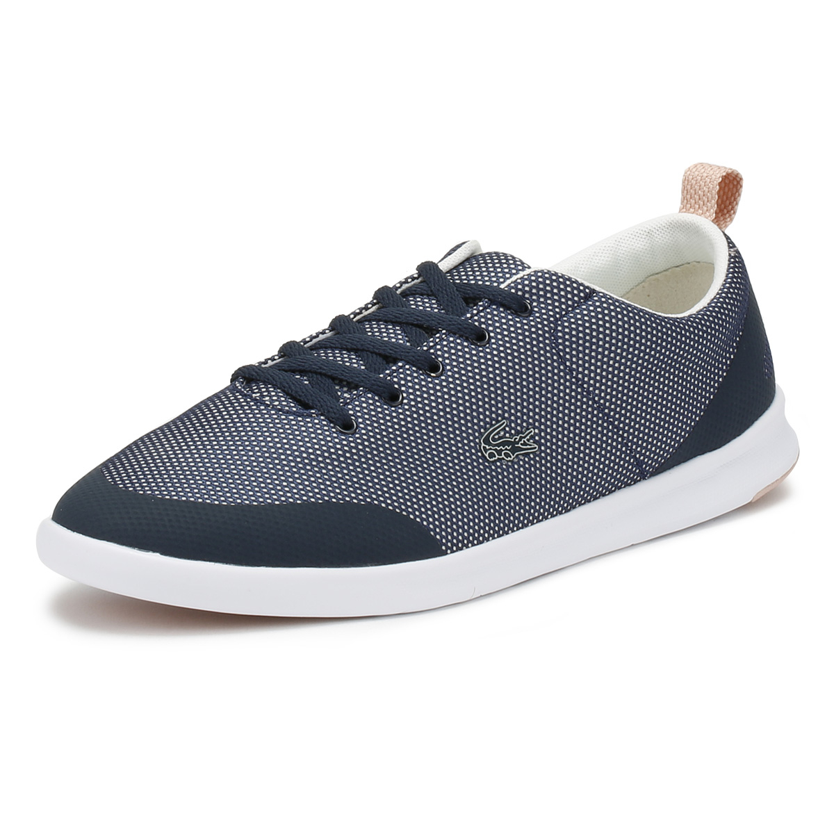 Lacoste Damenschuhe Trainers Navy Natural Avenir 218 1 1 1 Sport Casual Lace Up Schuhes dd06bd