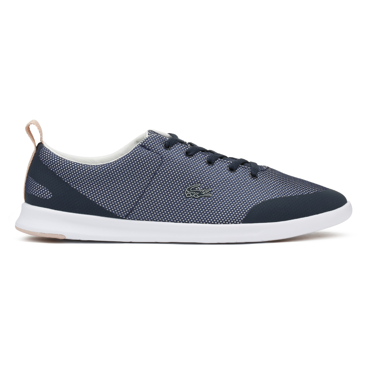 Lacoste Damenschuhe Trainers Trainers Trainers Navy Natural Avenir 218 1 Sport Casual Lace Up Schuhes ac67fa