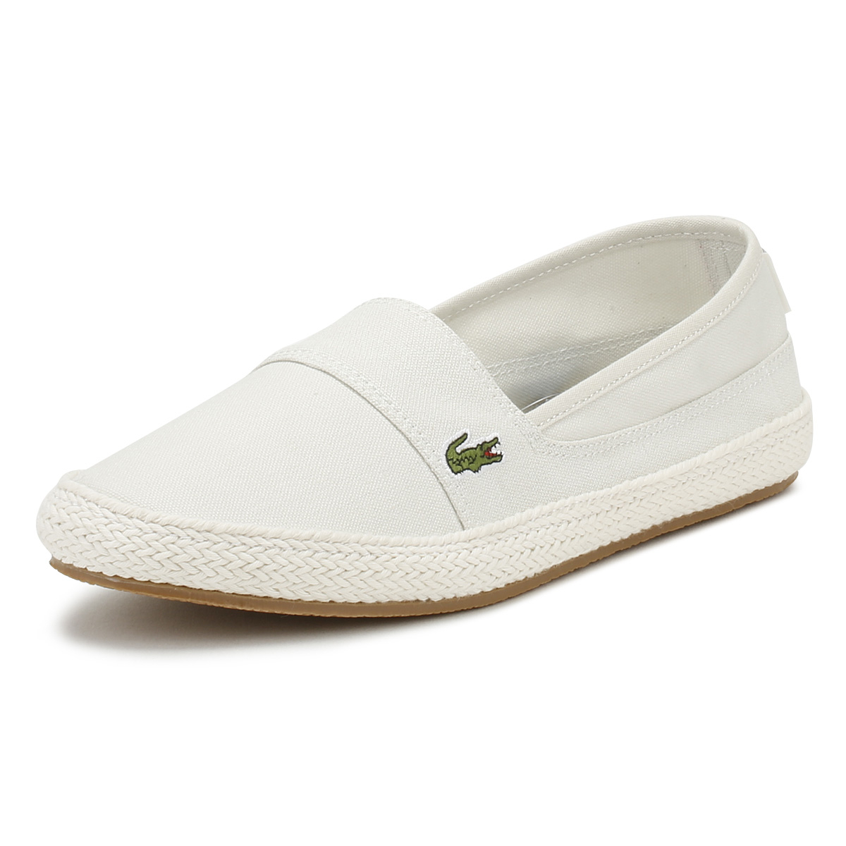 cc234fc8b Details about Lacoste Womens Flats White   Pink Marice 218 1 Espadrilles  Casual Shoes