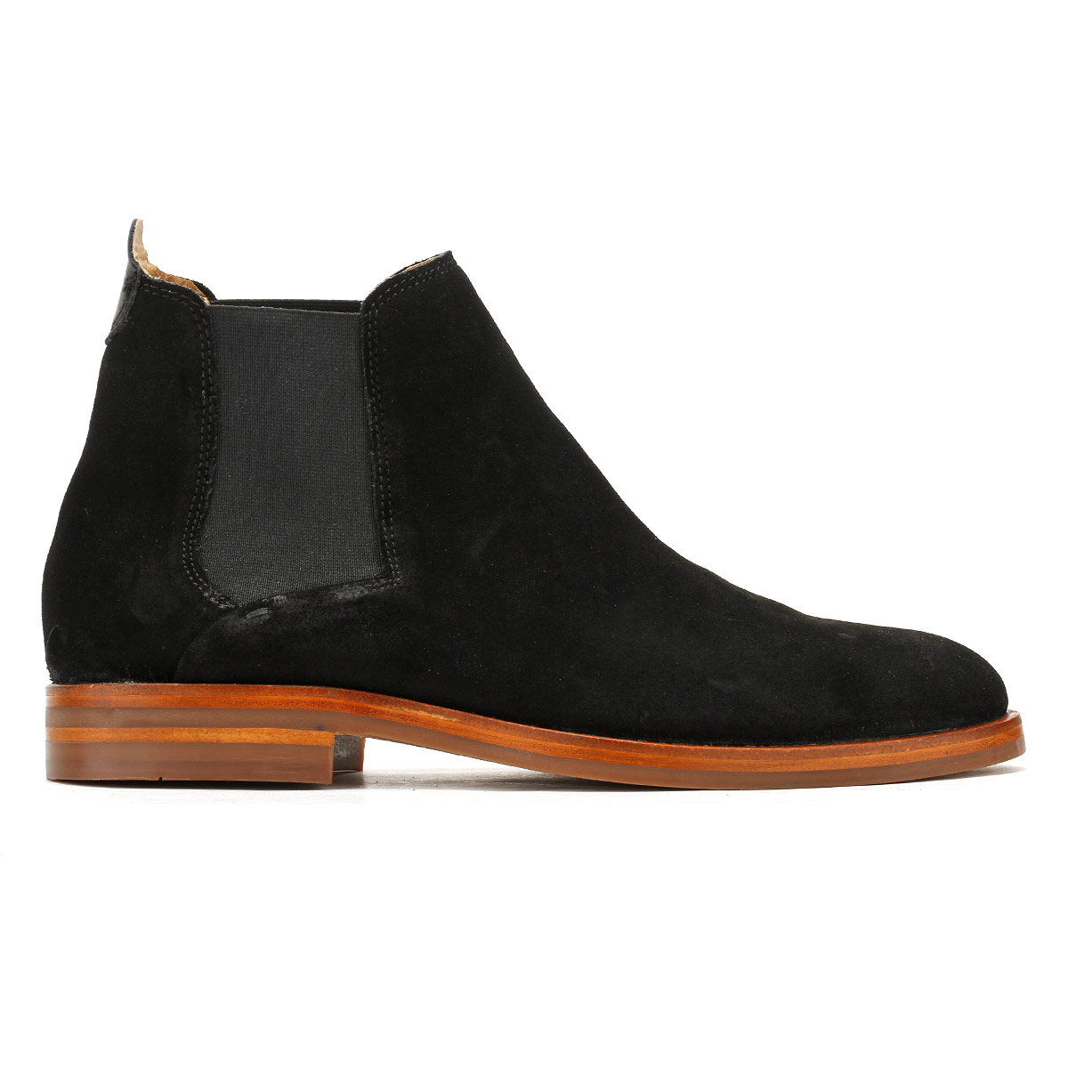 1e7ed0032 The Tonti boots from Hudson have a leather upper with elasticated side  panels