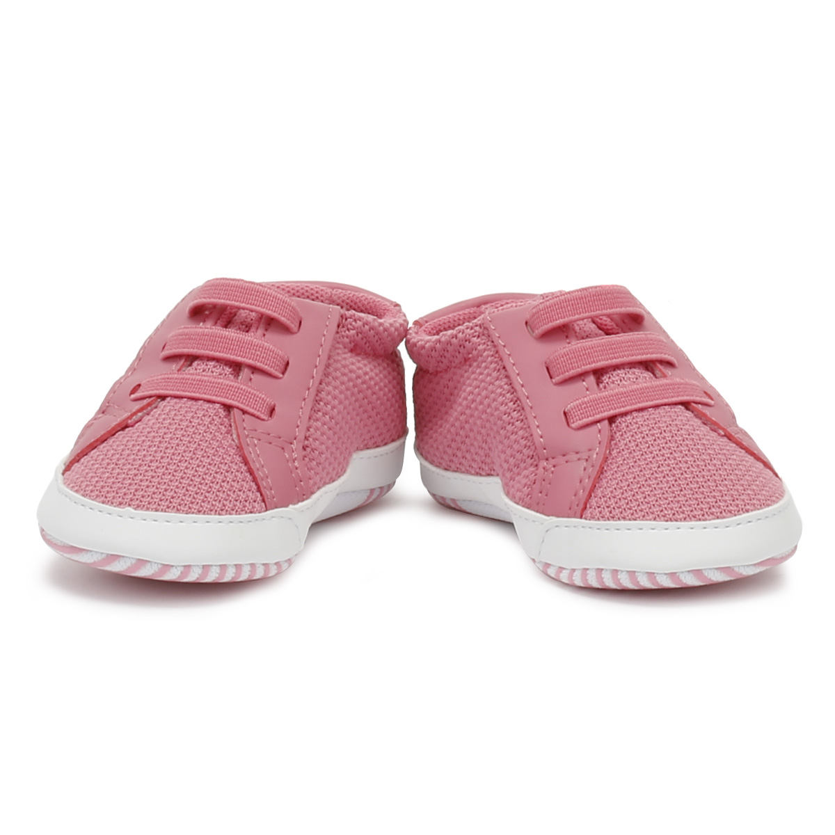 Lacoste Baby Pink White L.12.12 Crib 318 1 Trainers