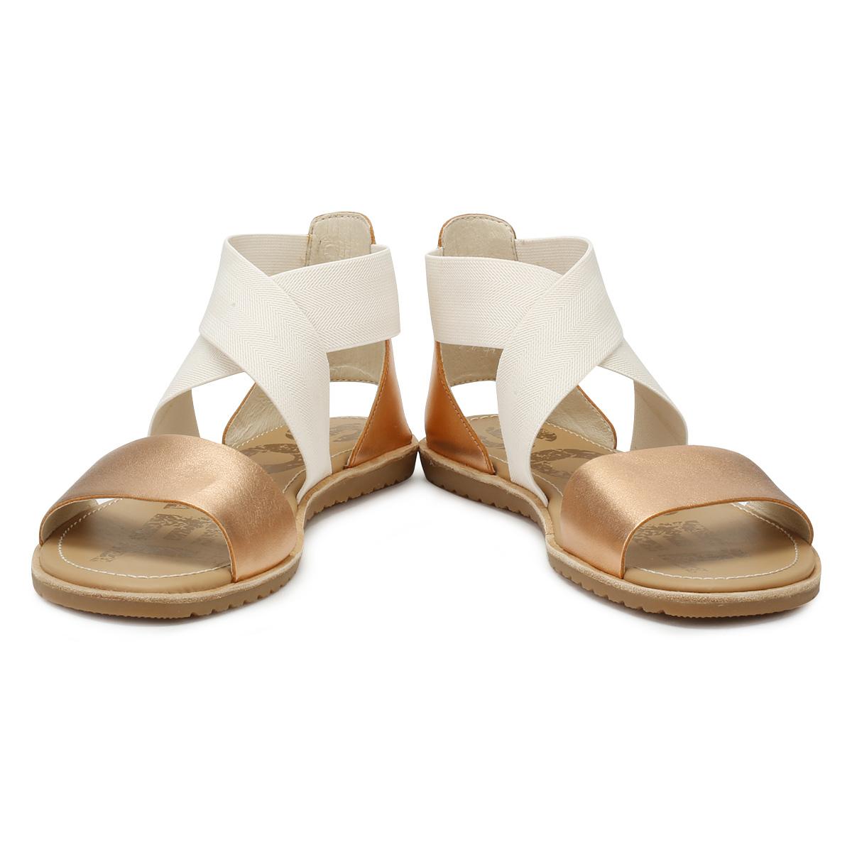 9dbc84192069a Sorel Womens Natural Beige Ella Sandals Ladies Summer Beach Casual Shoes