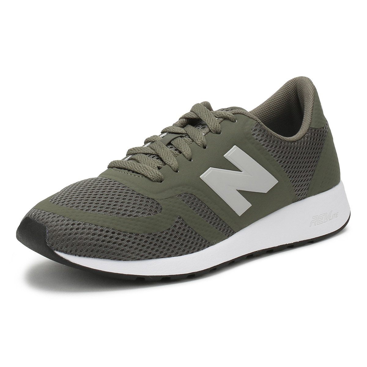 870735c8d50 Details about New Balance Mens Trainers Military Green 420 Lace Up Sport  Casual Running Shoes