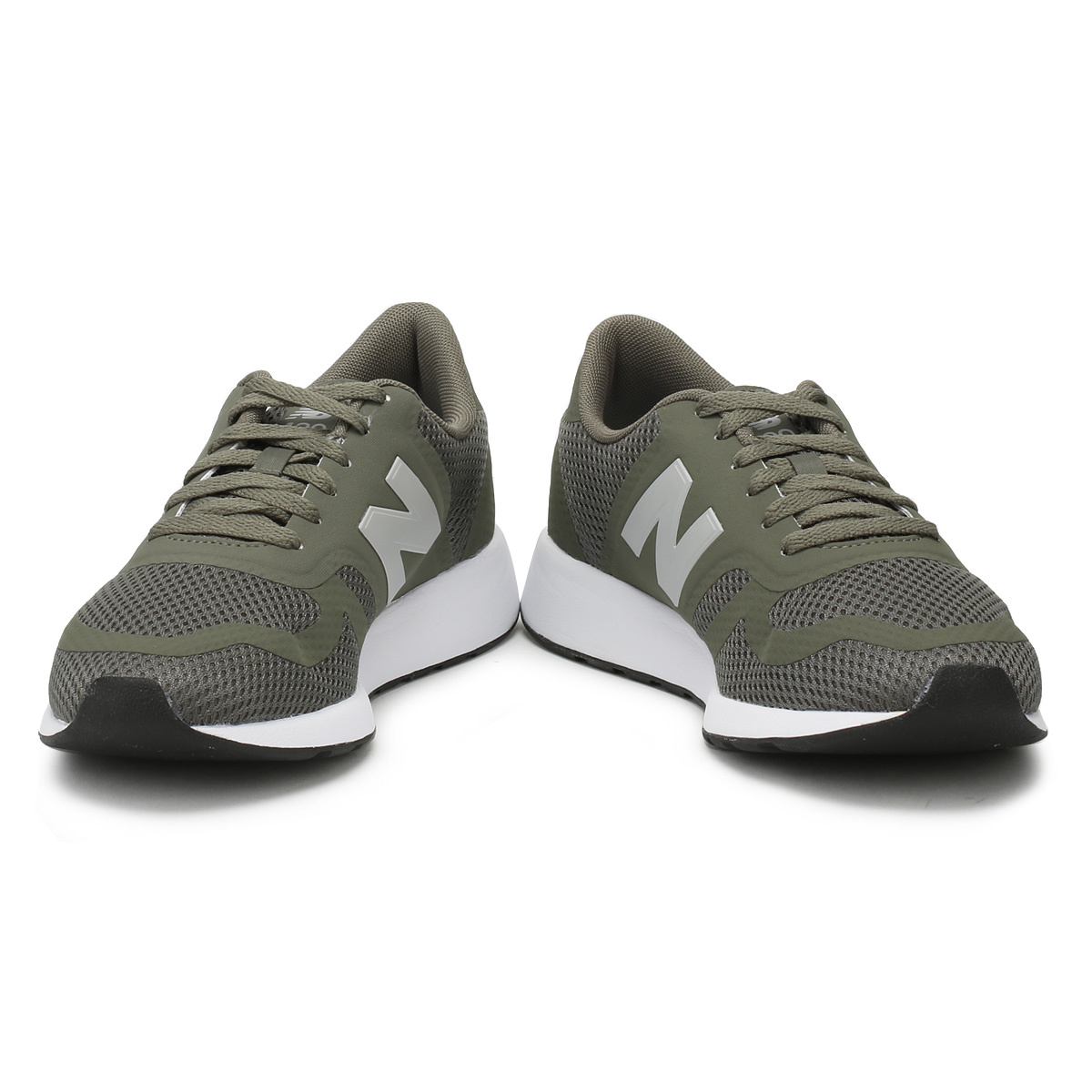 6759ec69065 New Balance Mens Trainers Military Green 420 Lace Up Sport Casual Running  Shoes
