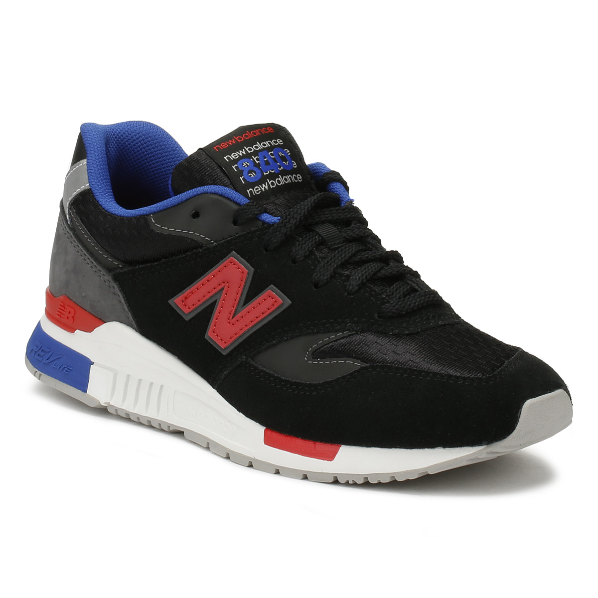 New Balance Mens Trainers Black   Magnet 840 Lace Up Sport Casual ... 04a1db53588f