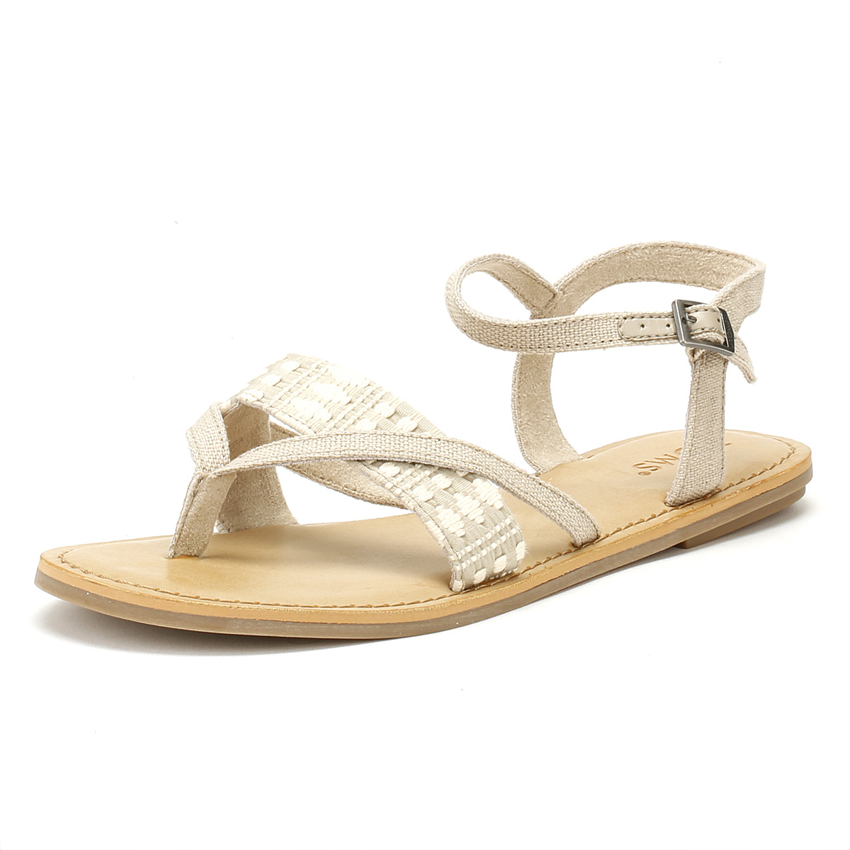 3989e7fabb7 TOMS Womens Oxford Tan Heritage Lexie Sandals Ladies Summer Shoes