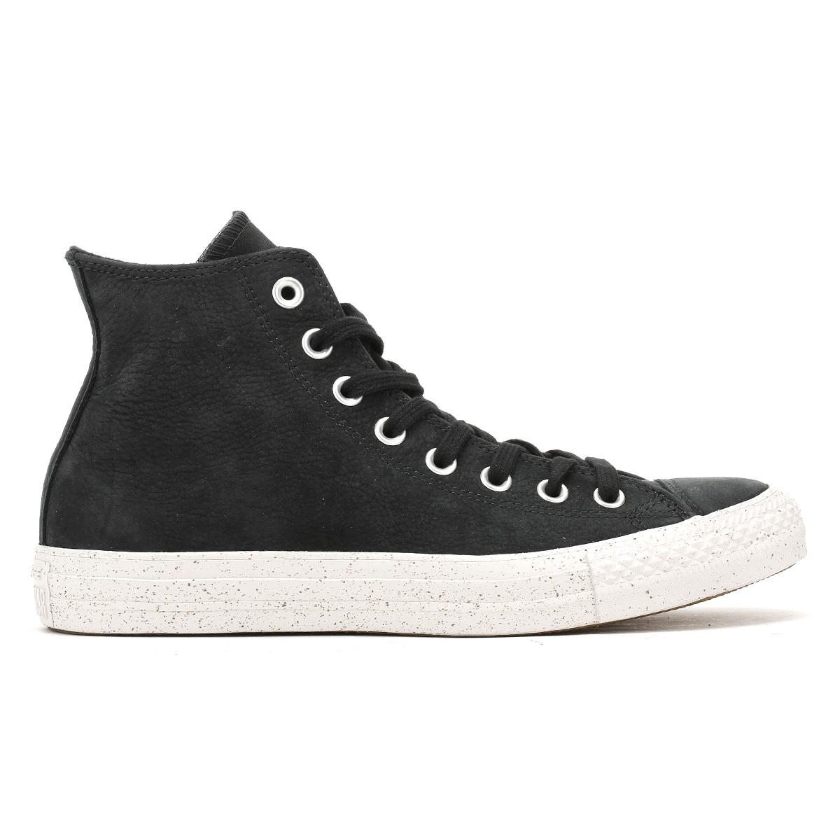 Converse Sneaker Uomo Chuck Taylor Tutti nabuk Star nero pelle nabuk Tutti Hi Tops Scarpe Da Ginnastica Scarpe 01c58f