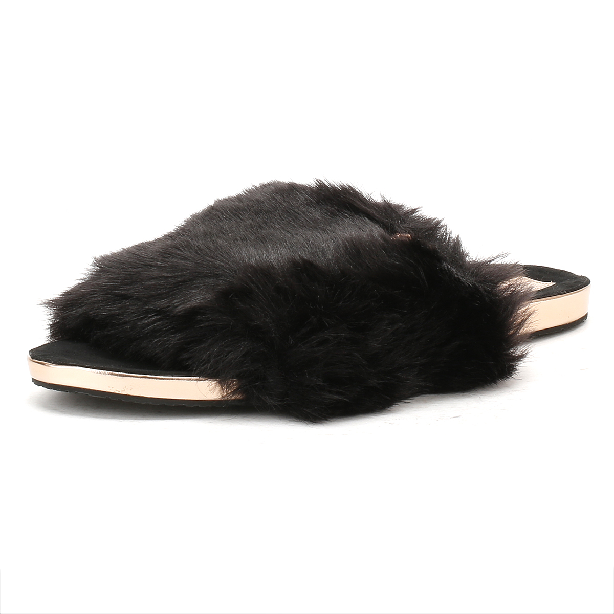 8a39ebc27 Details about Ted Baker Womens Black Pancey Mules Slippers