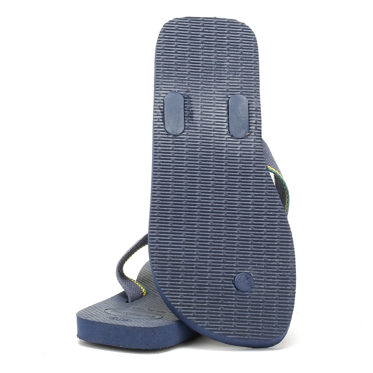 26c6cd41ad45f Havaianas Mens Navy Urban Brasil Flip Flops Beach Summer Thong Shoes ...