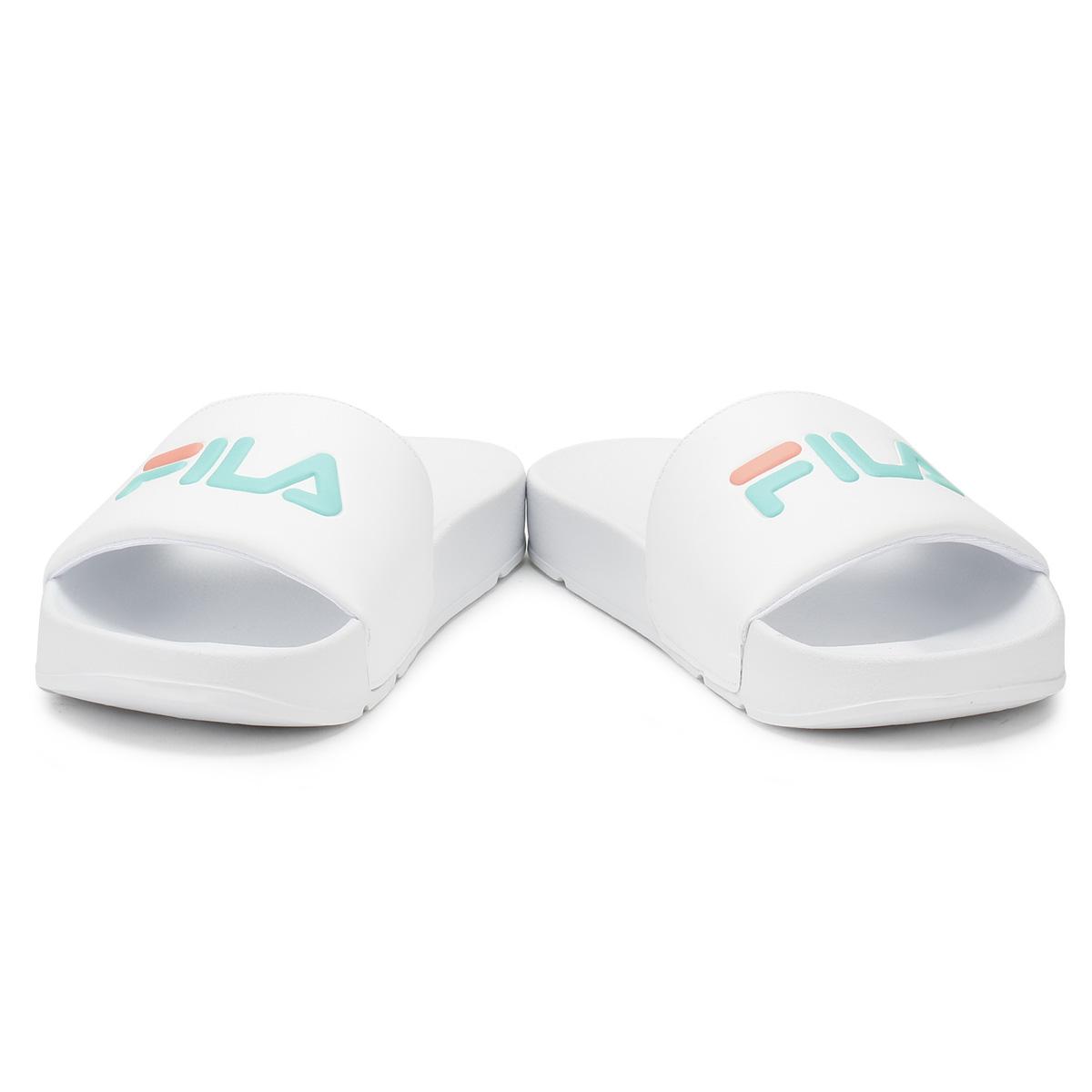 Details about Fila Womens Slides White   Cockatoo   Desert Flower Drifter  Summer Beach Sandals c970893cfef4