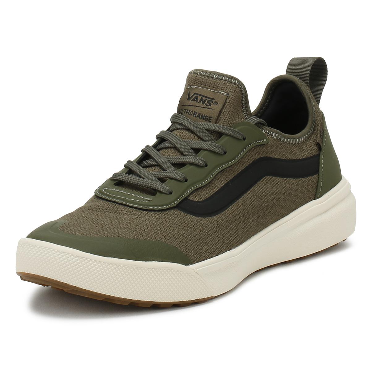 Vans Sneaker Uomo Foglia Verde Lavorato a Maglia ultrarange AC Lacci Sport Scarpe Casual