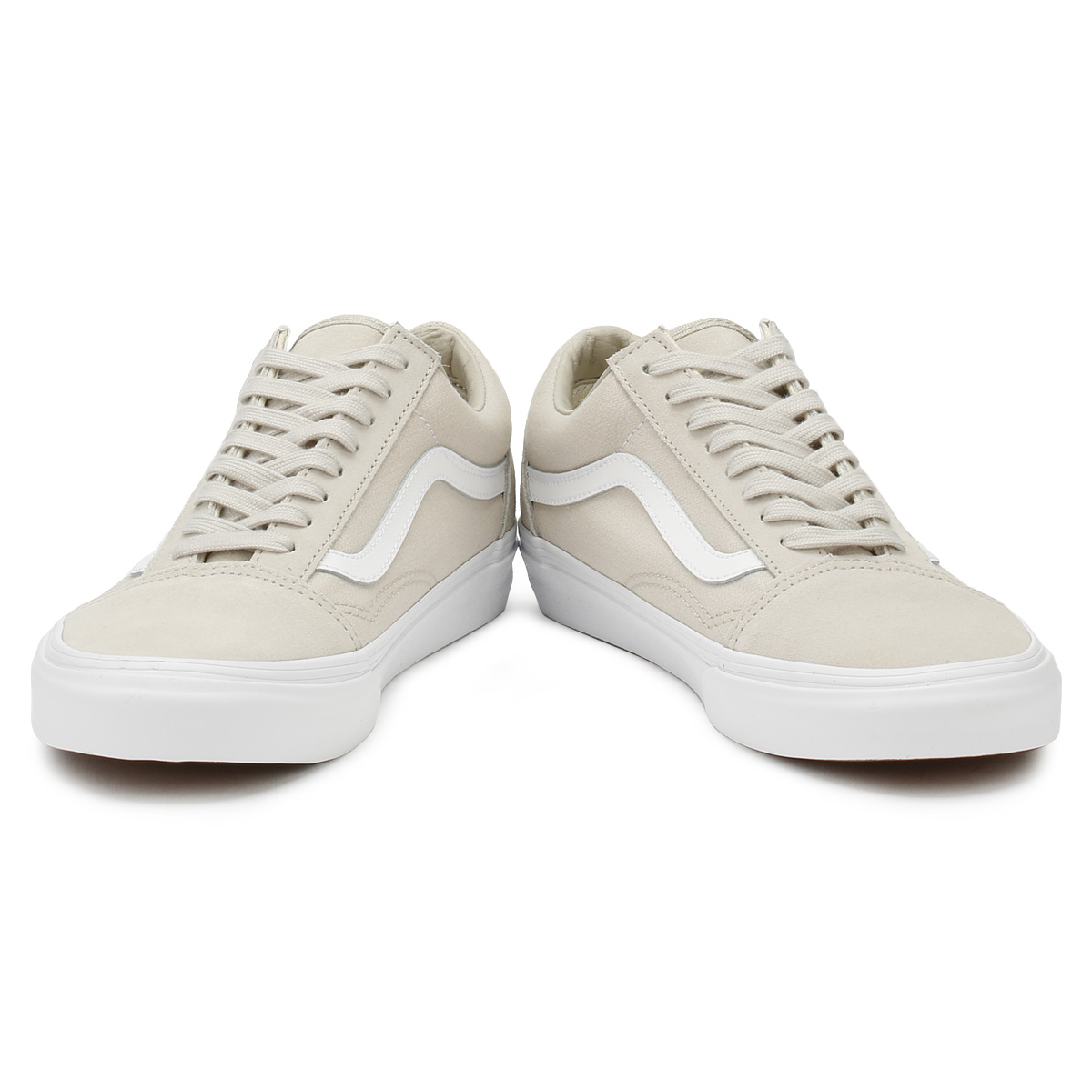 bd51b530cc Vans Unisex Silver Lining   True White Suiting Old Skool Lace Up Skater  Shoes