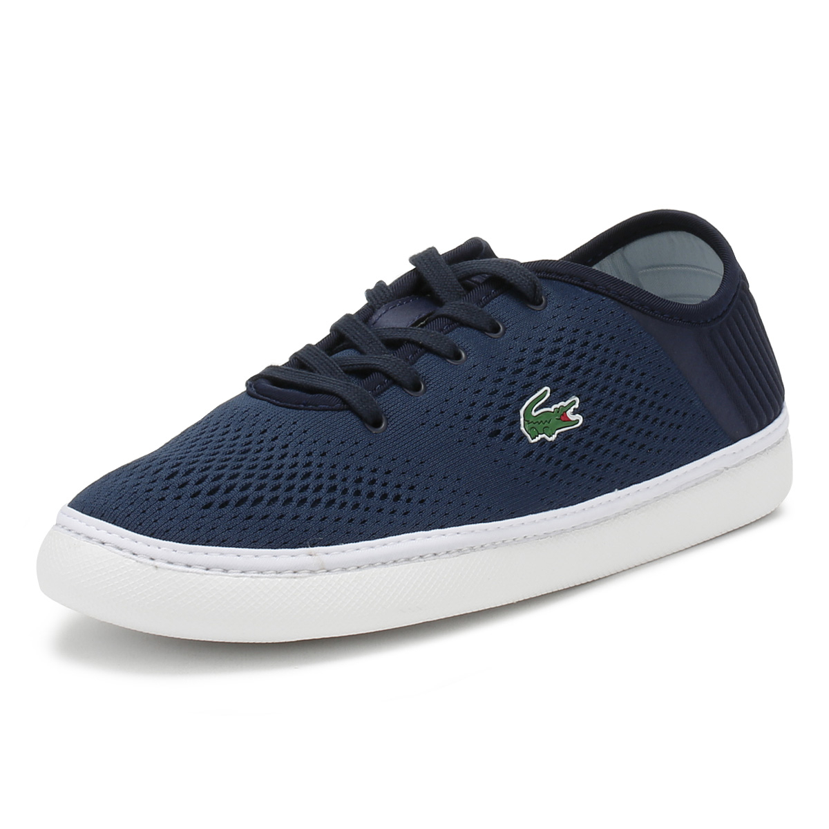 8d56fd2f2 Details about Lacoste Mens Trainers Navy   White L.YDRO Lace 118 1 Sport  Casual Lace Up Shoes